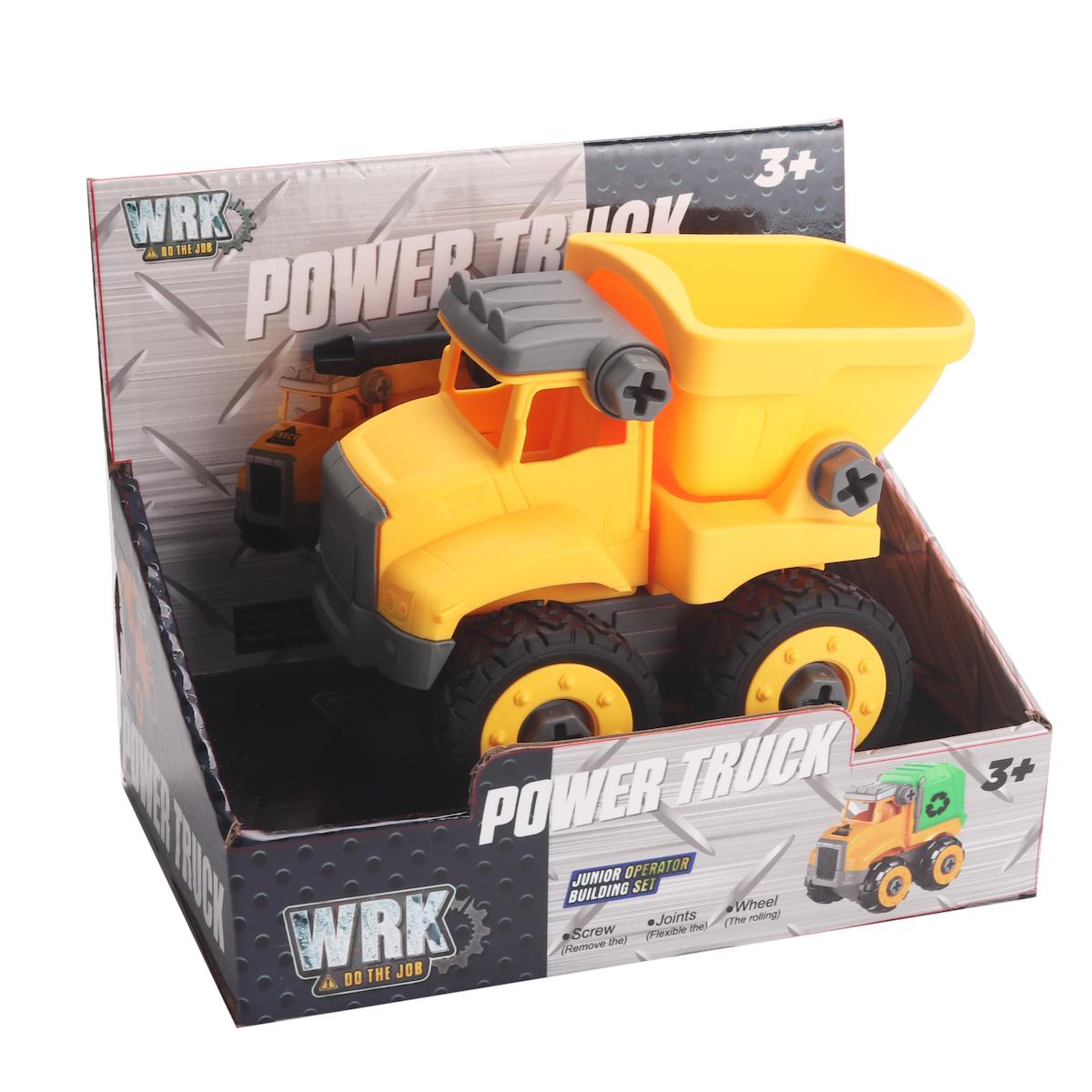 WRK Bygg ihop lastbil med tippflak