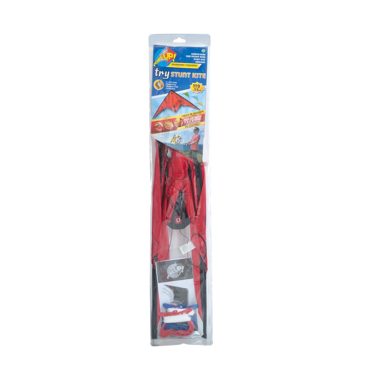 Pop-Up Kites Flygdrake Stuntdrake 119 cm