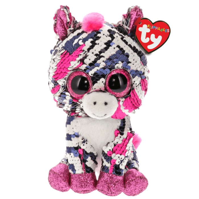 TY Flippables Zoey Zebra 15 cm