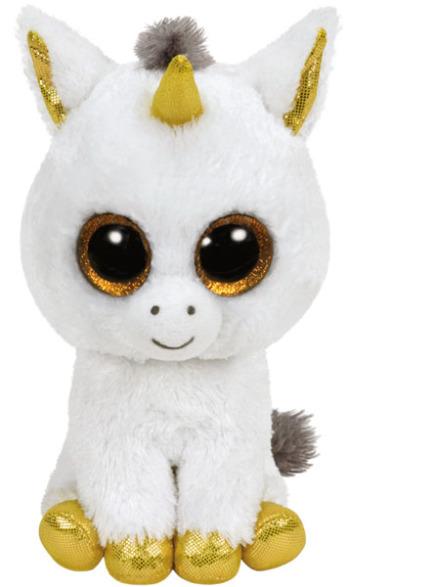 TY Beanie Boos - Pegasus Enhörning 23 cm