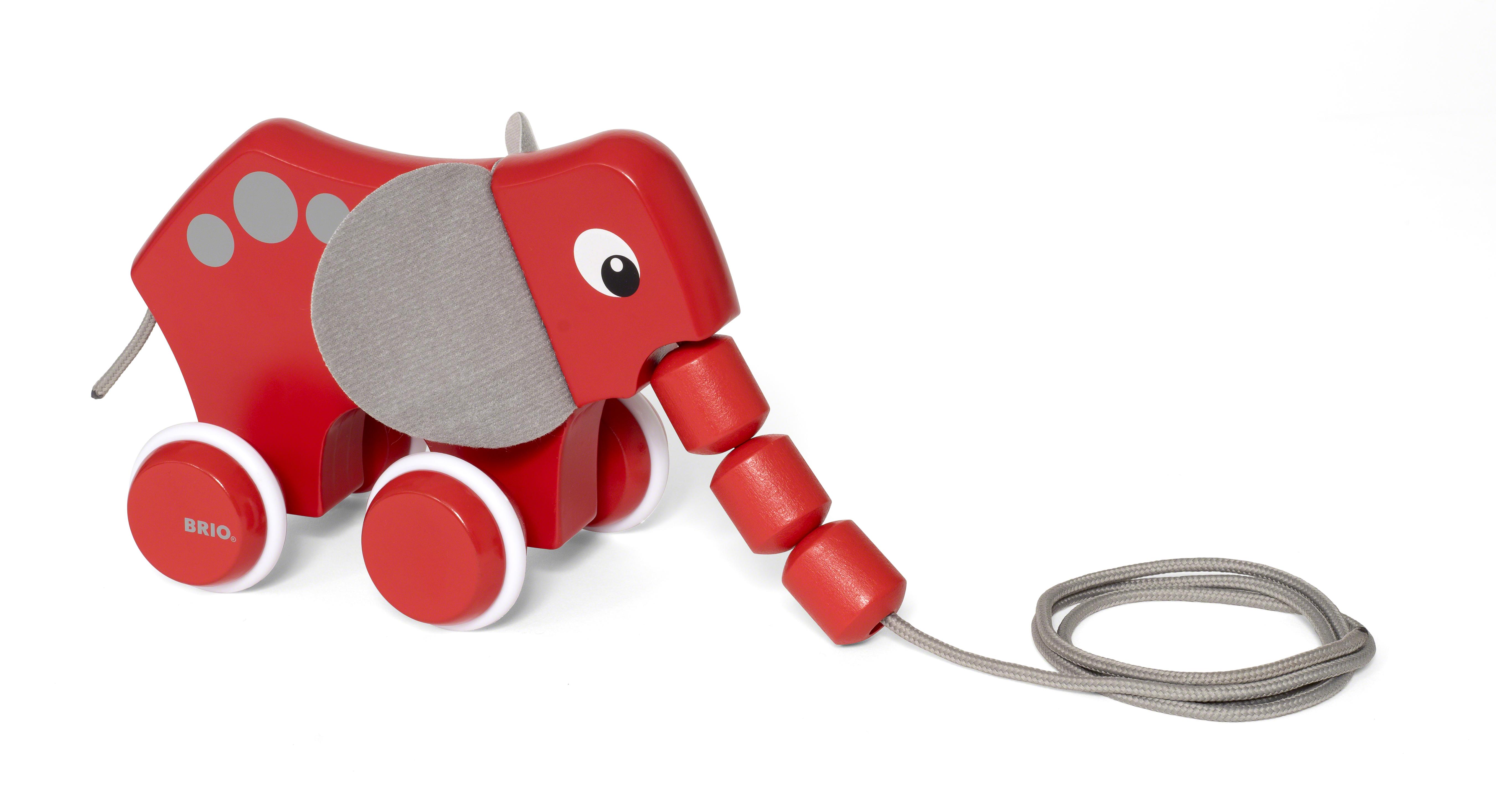 BRIO 30186 Drag-elefant