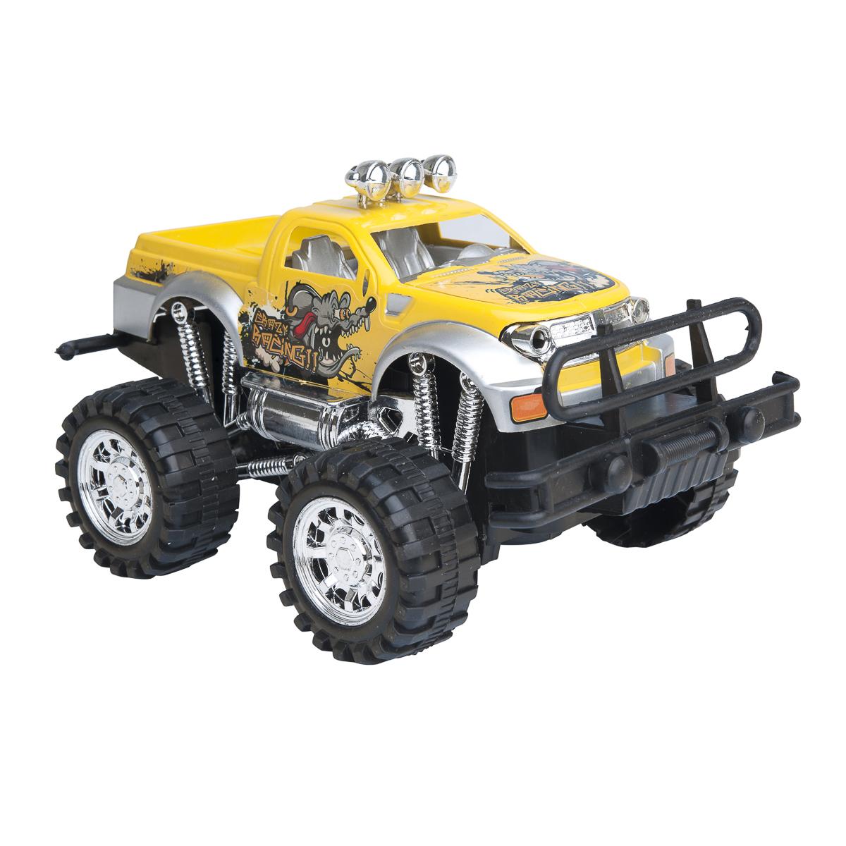 Cross country Jeep 20 cm Gul