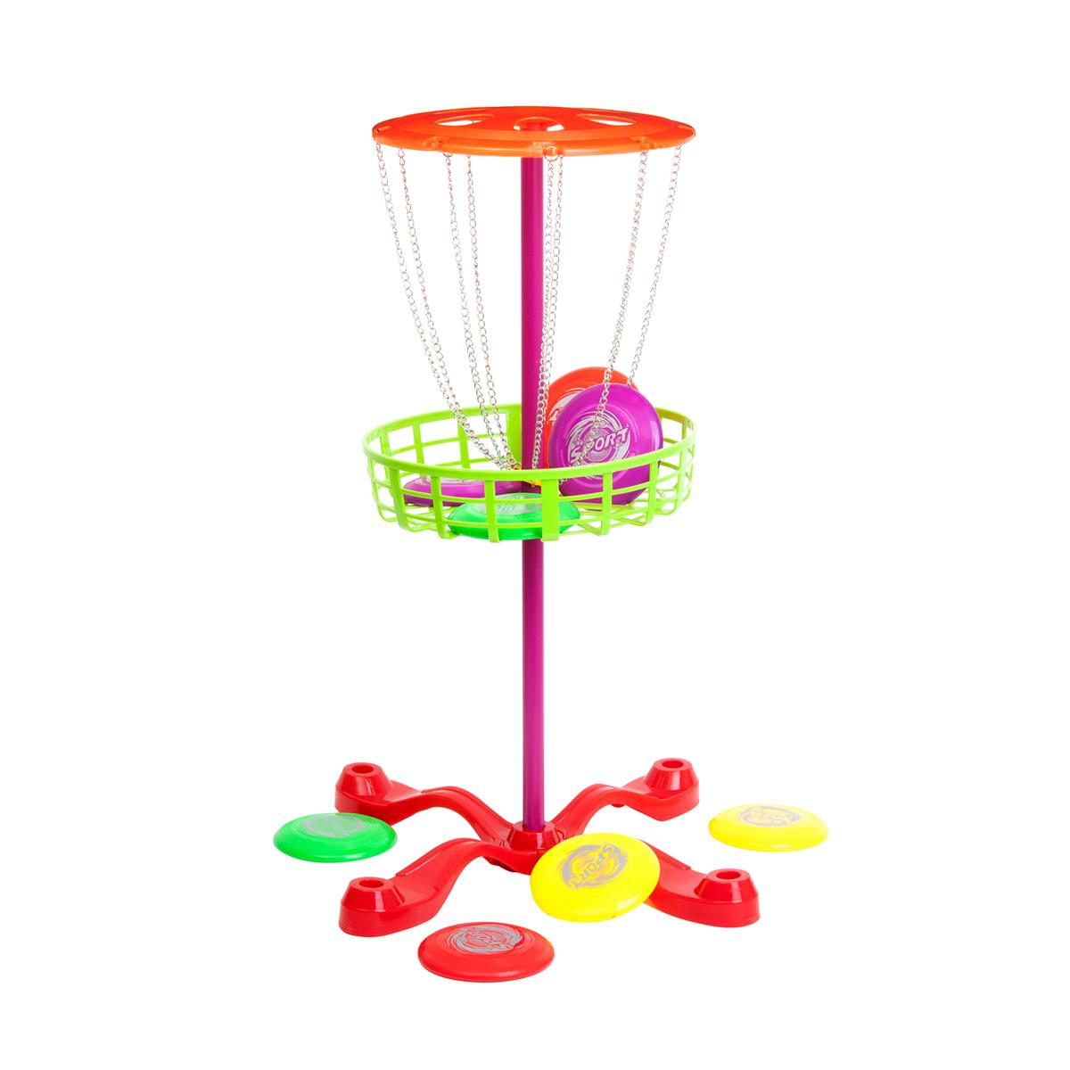 Kids Sports Freesbee med nätkorg