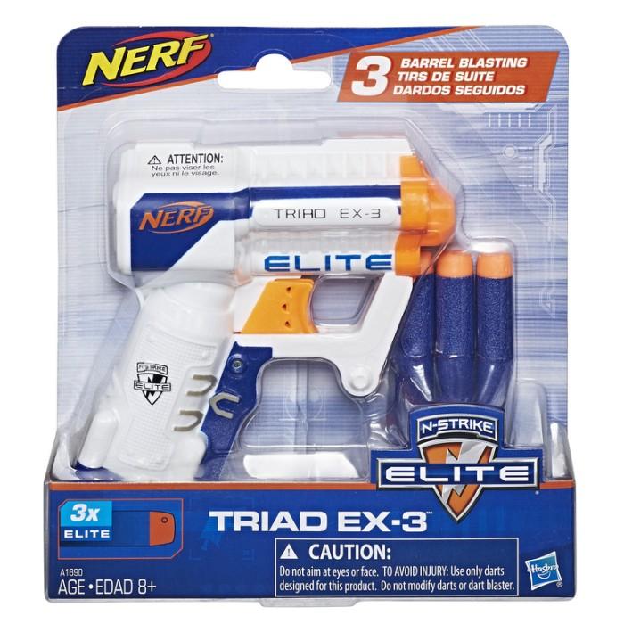 Nerf - NṀstrike TRIAD EX-3-blaster