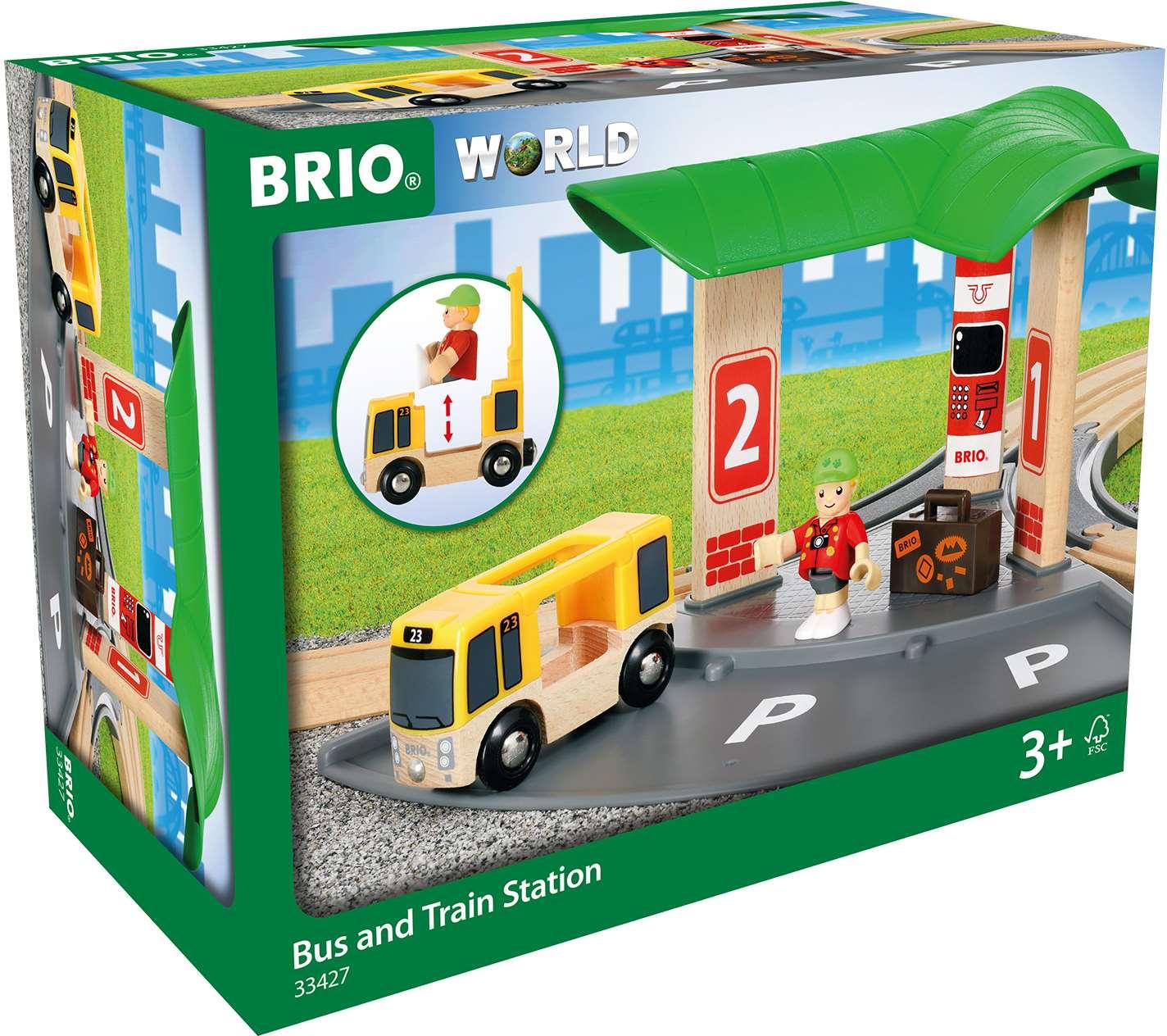 BRIO Buss- och tågstation