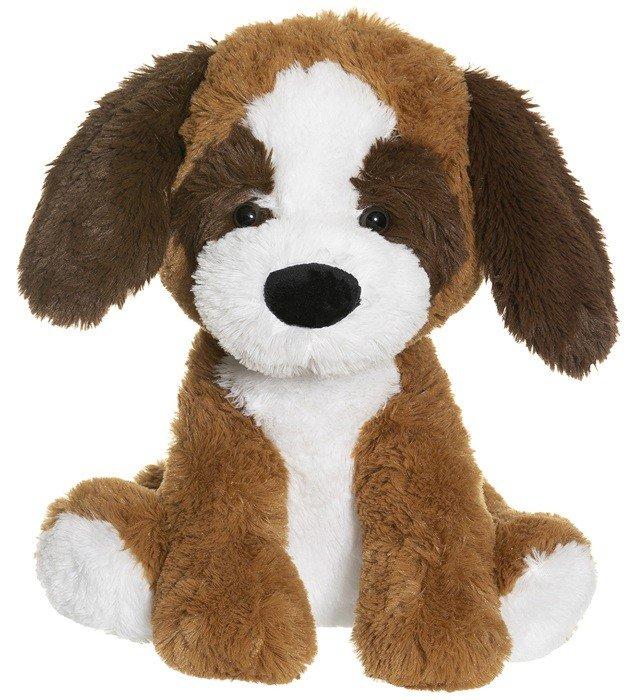 Teddykompaniet - Sittande hund - brun