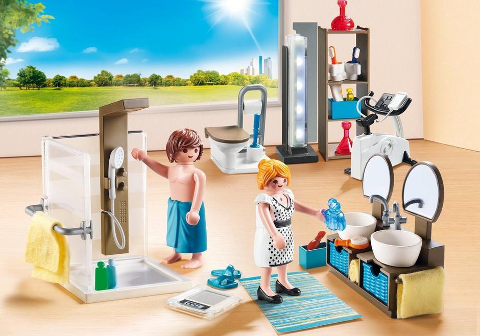 Playmobil City Life 9268 Badrum