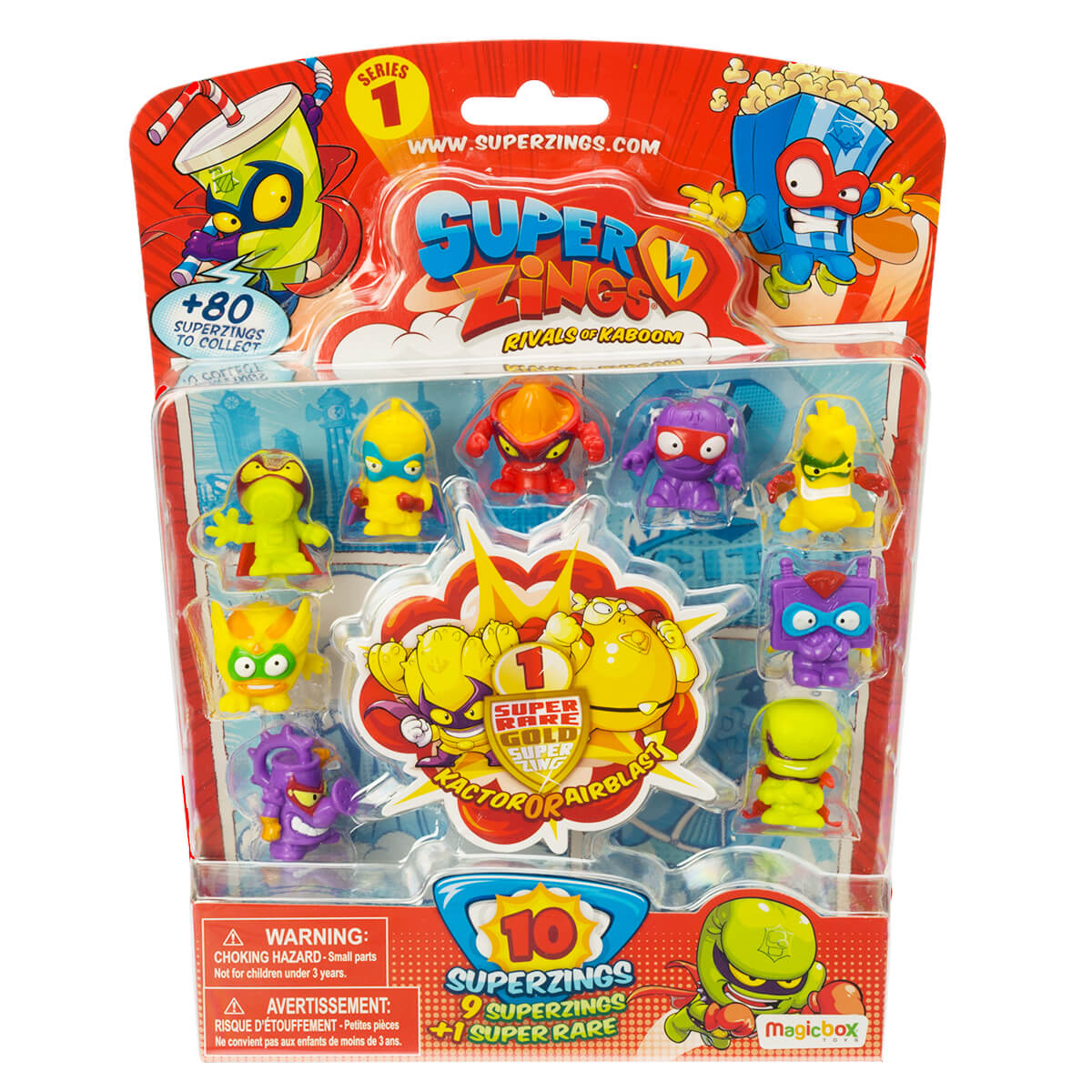 SuperZings 10-pack Gold