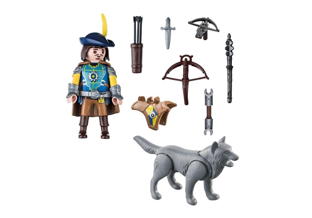 Playmobil Knights - Armborstssoldat med varg