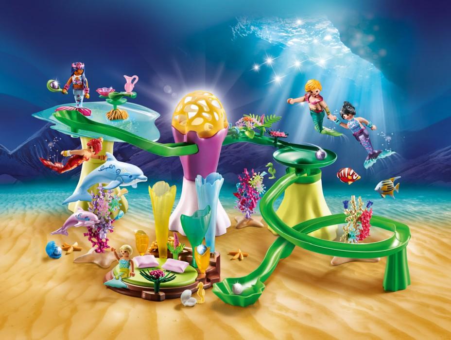 Playmobil Magic - Sjöjungfruns grotta med upplyst kupol