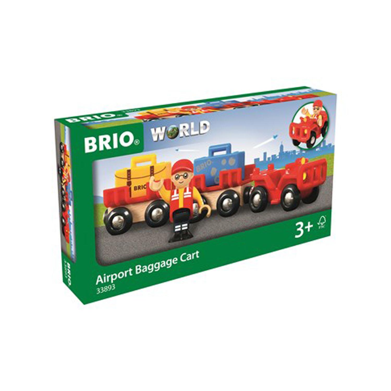 BRIO Travel 33893 Flygplatsens bagagetåg
