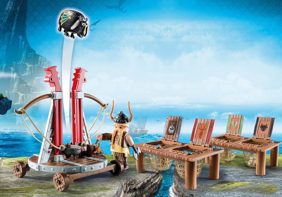 Playmobil Dragons - Gape Rapkäft med fårsele