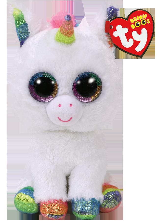 TY Beanie Boos - Pixy white unicorn 23 cm