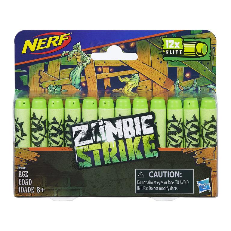 Nerf Zombie Strike 12 st dart refill