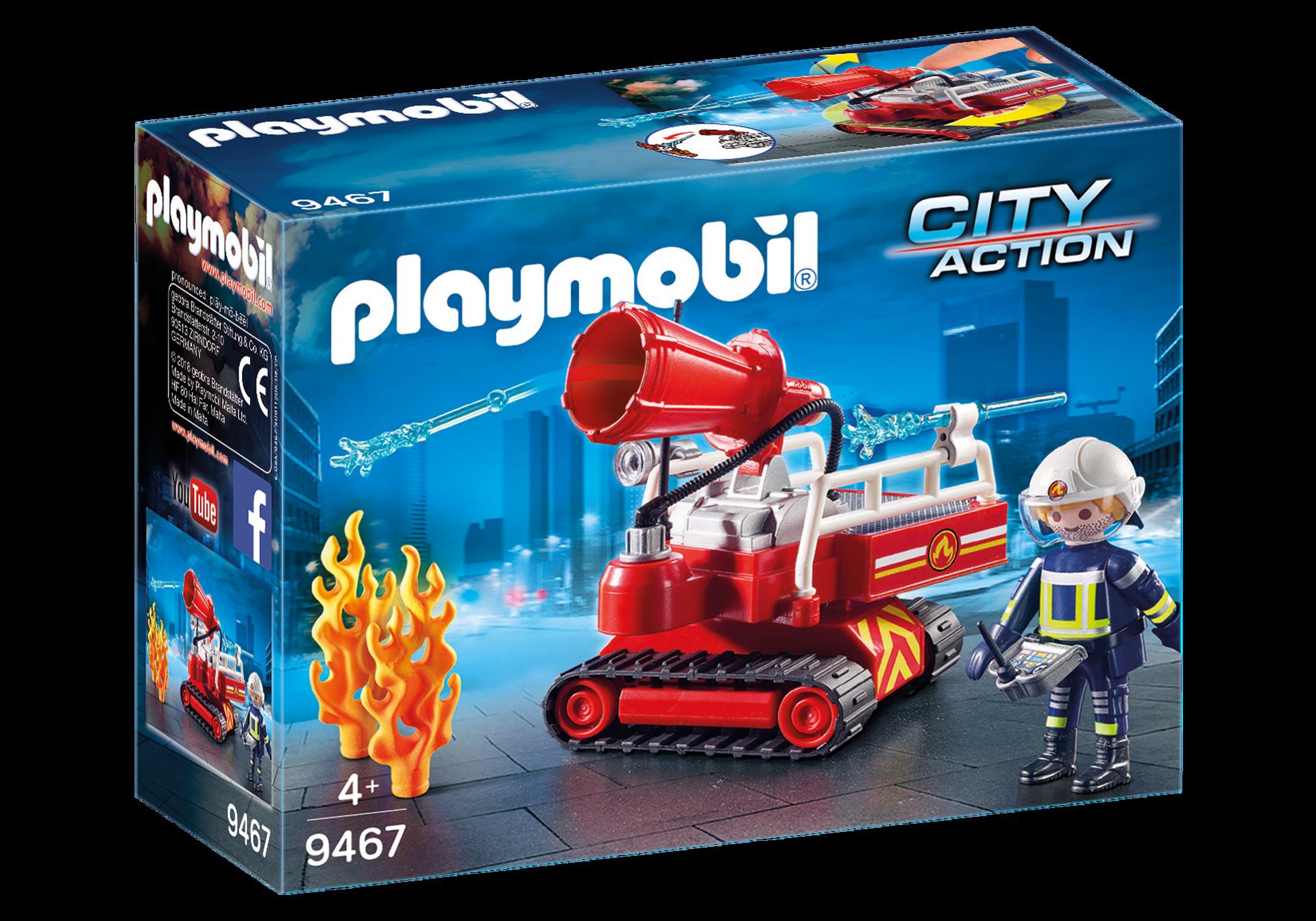 Playmobil City Action - Släckningsrobot