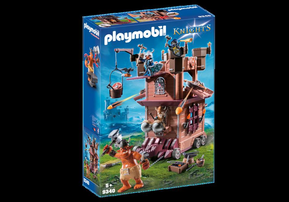 Playmobil Knights  - Dvärgfästning på hjul