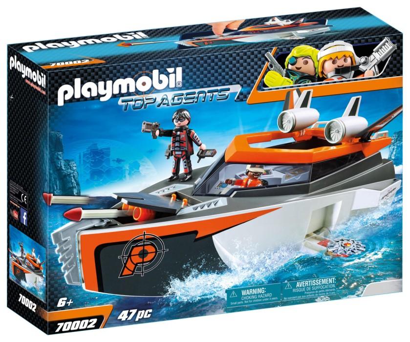 Playmobil Top Agents - SPY TEAM Turbobåt