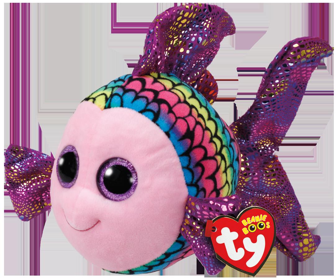 TY Beanie Boos - Flippy Fisk 15 cm