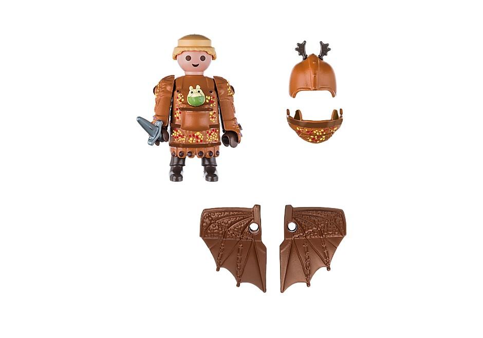 Playmobil Dragons - Fiskfot med flygdräkt