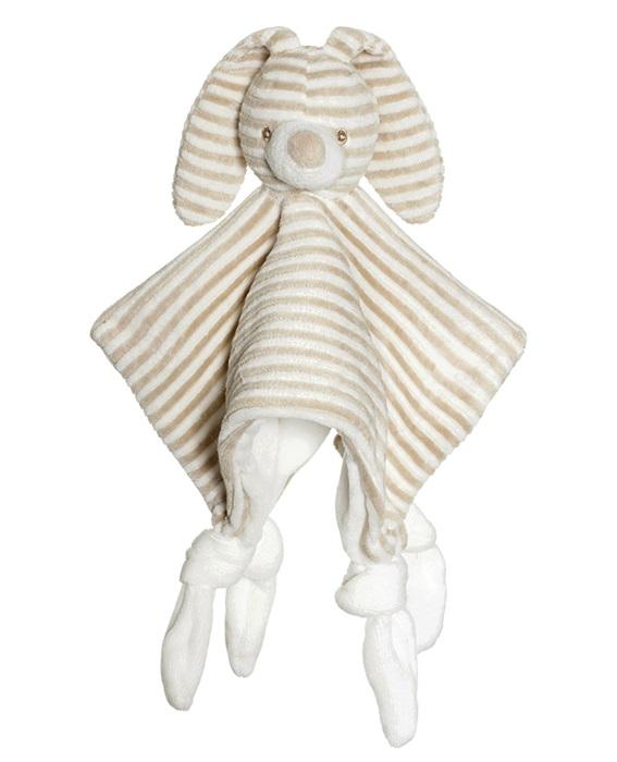 Teddykompaniet Cotton Cuties - Kanin Snuttefilt Beige 25 cm
