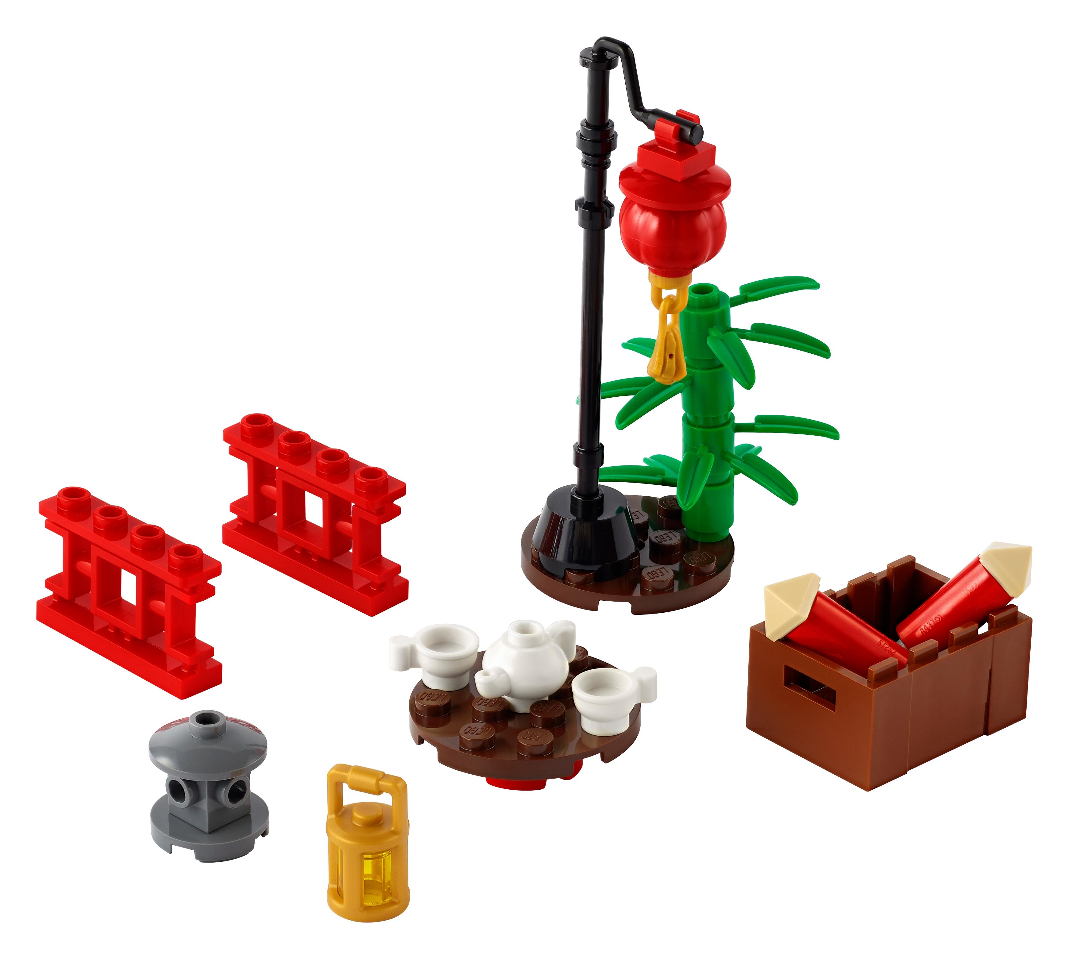 LEGO Xtra 40464 xtra Chinatown
