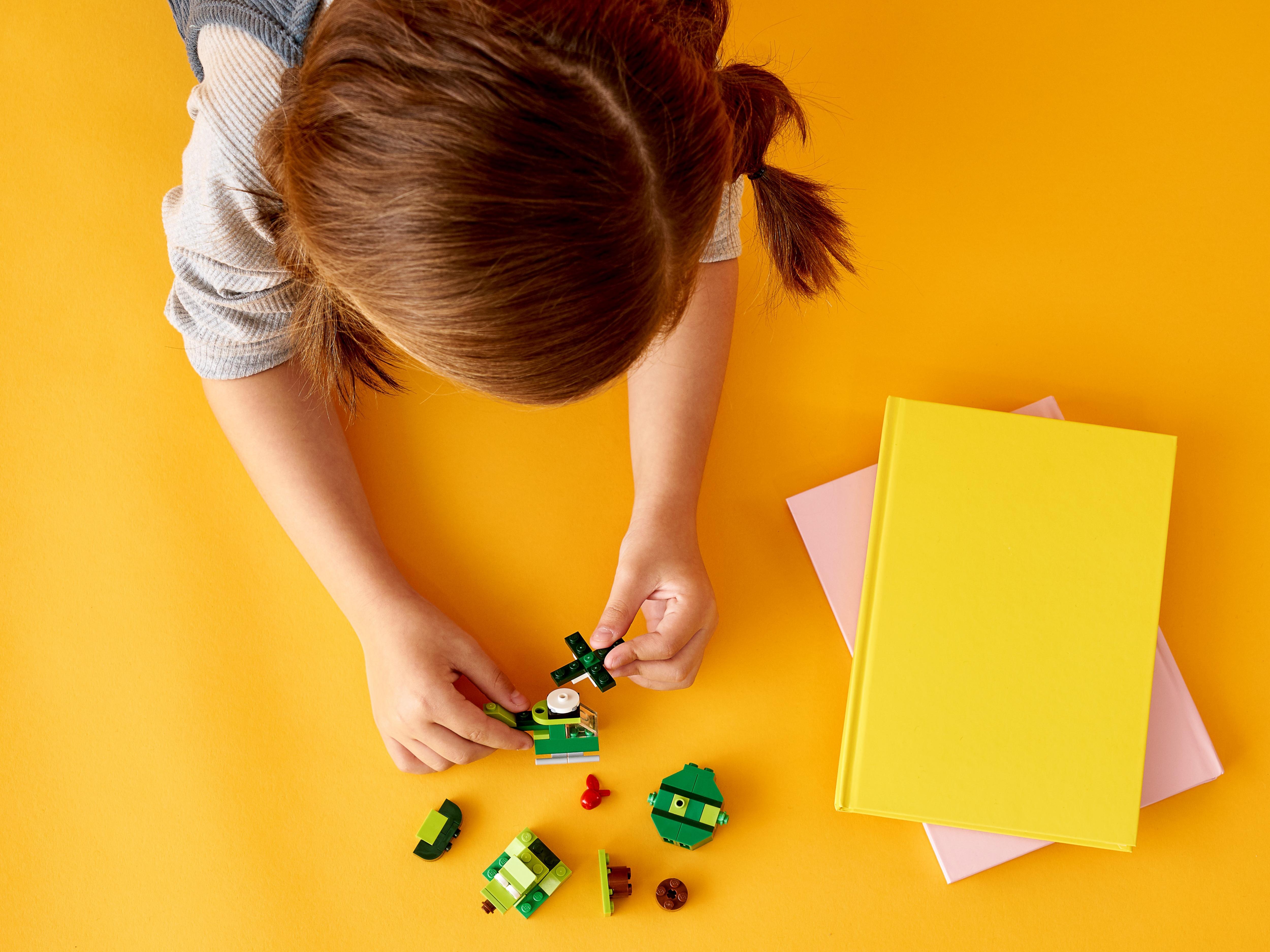 LEGO Classic 11007 Kreativa gröna klossar