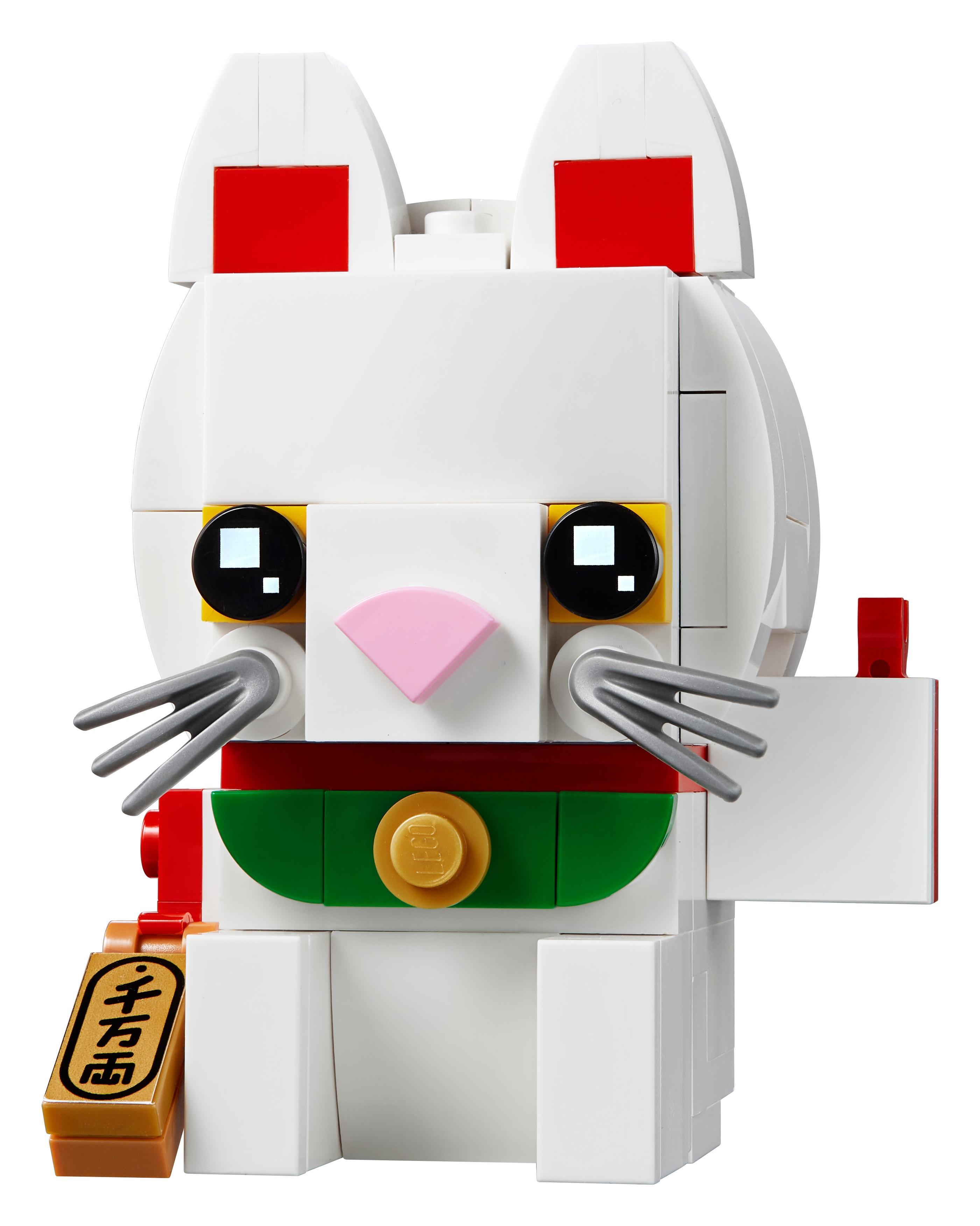 LEGO BrickHeadz 40436 Lyckokatt
