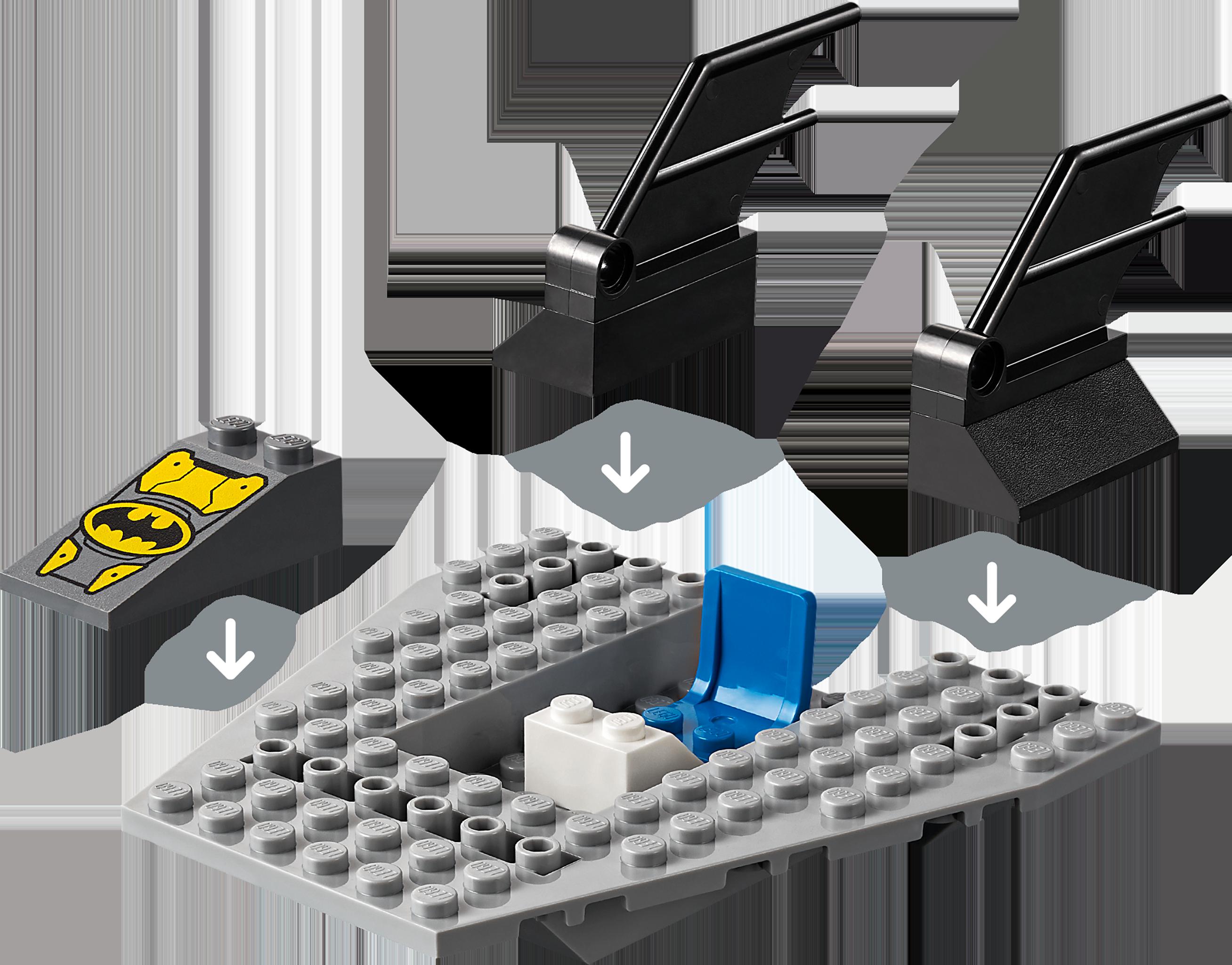 LEGO Batman 76158 Bat-båtens jakt på Pingvinen!