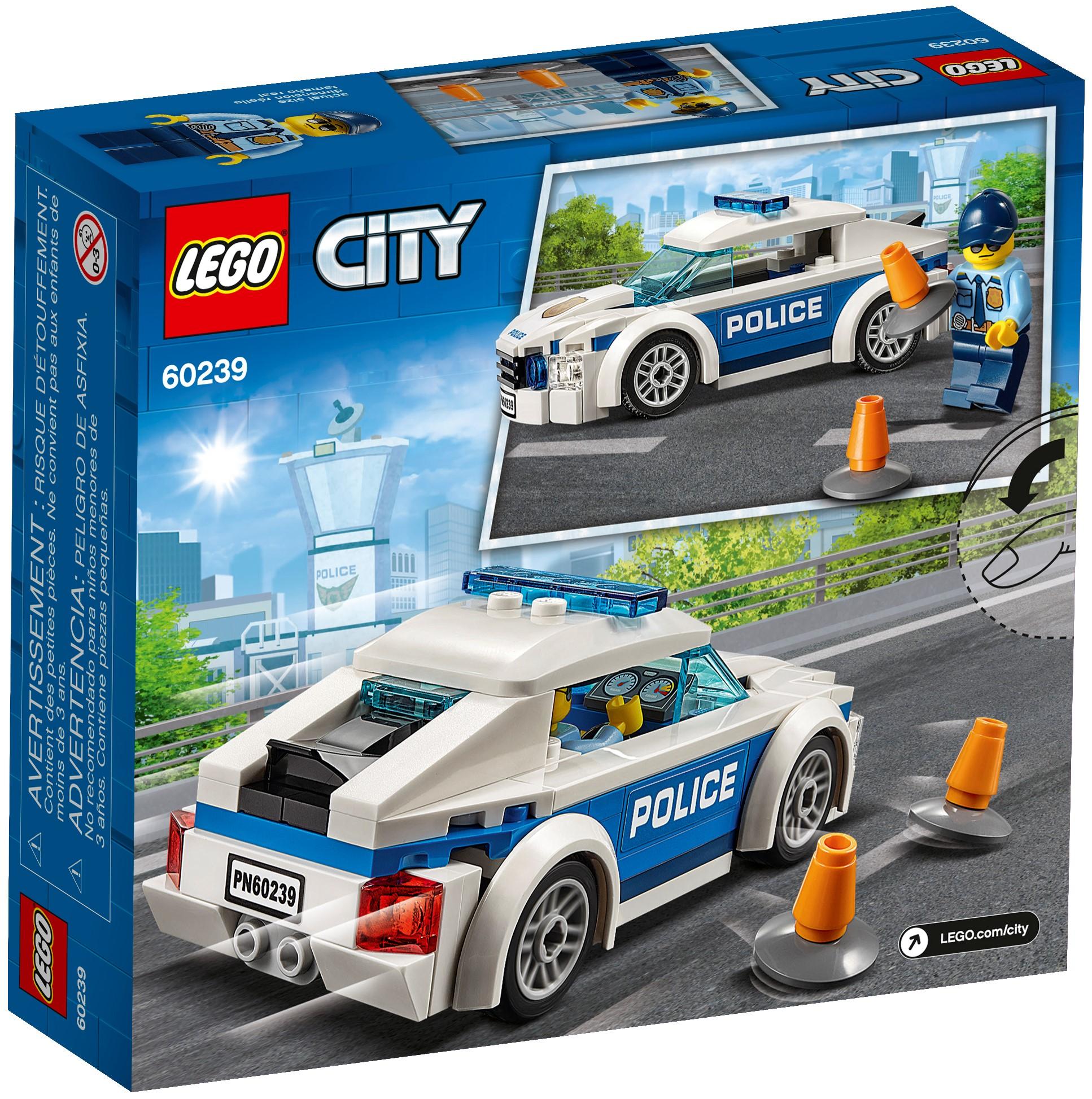 LEGO City 60239 Polispatrullbil