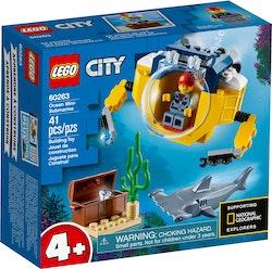 LEGO City 60263 Hav – miniubåt
