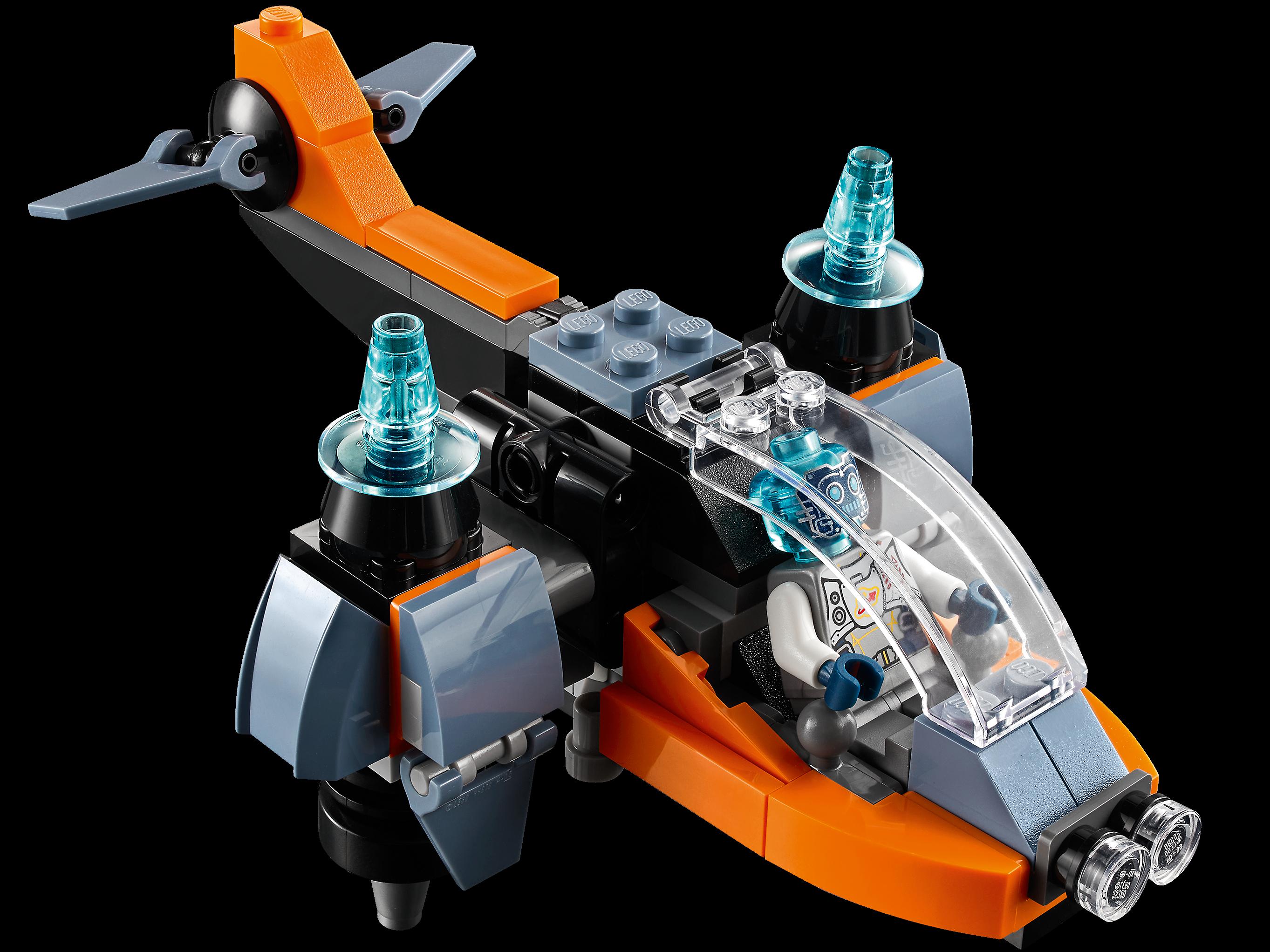 LEGO Creator 3-in-1 31111 Cyberdrönare