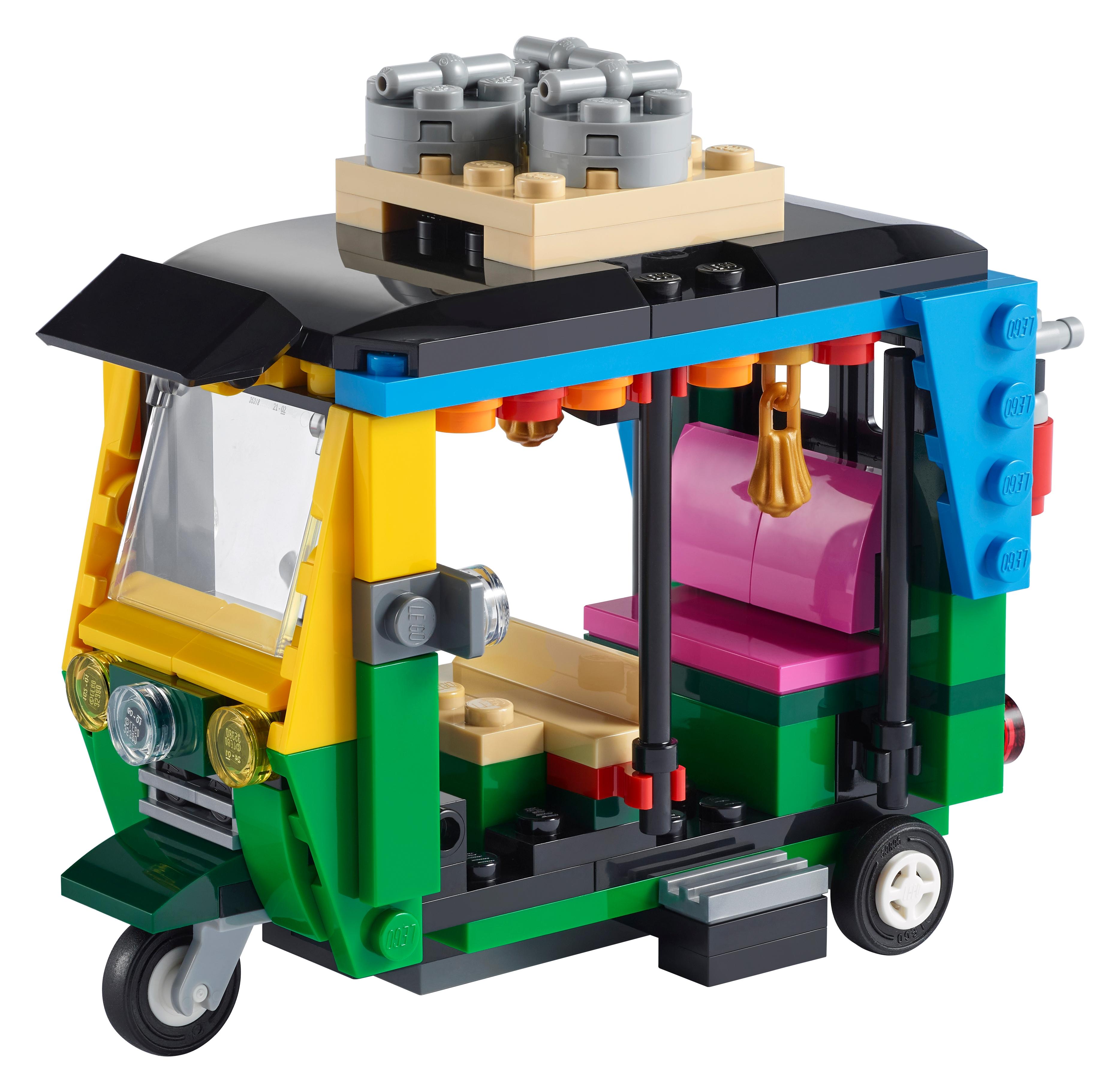 LEGO Creator 3-in-1 40469 Tuk-tuk