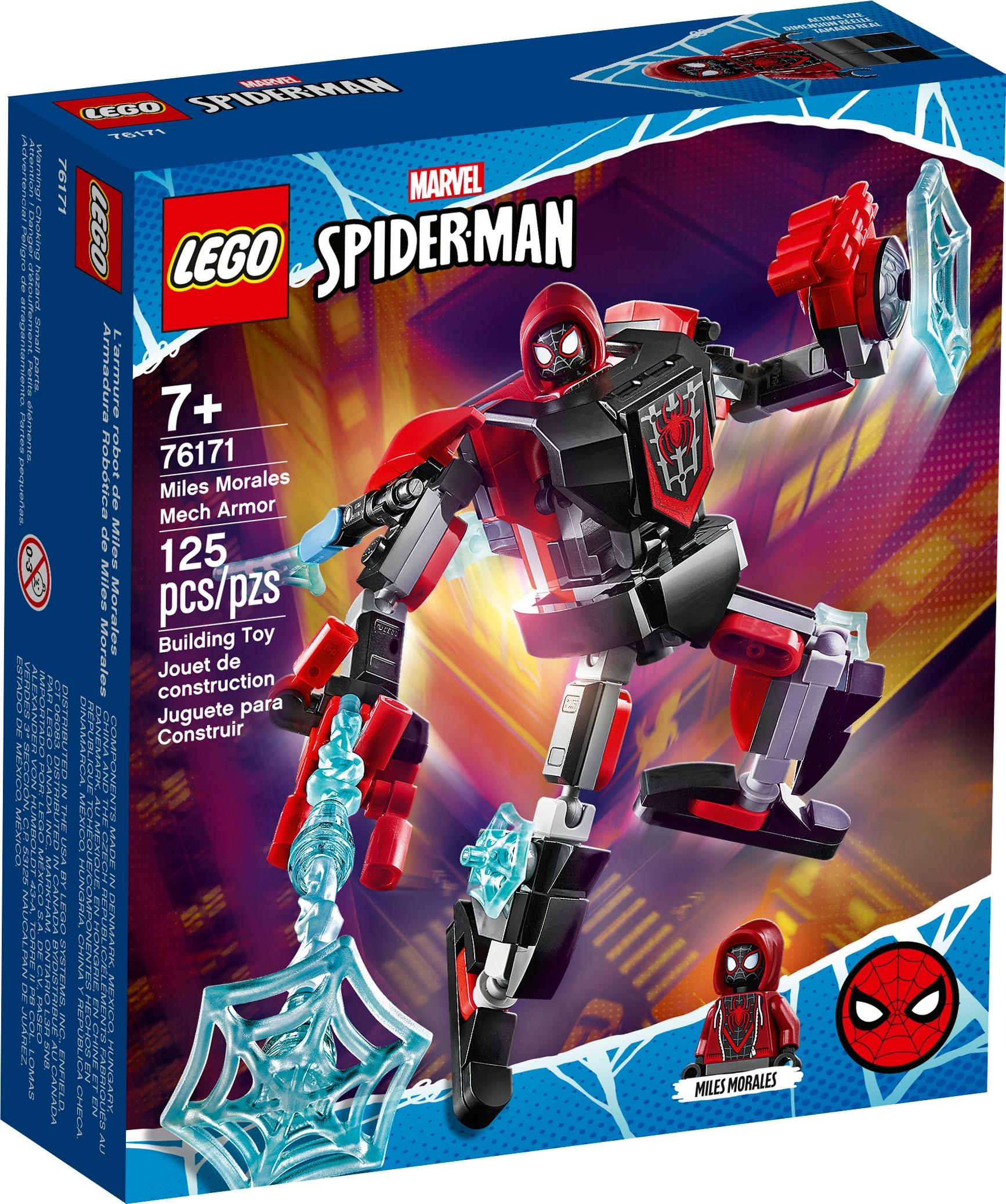 LEGO Marvel 76171 Miles Morales i robotrustning