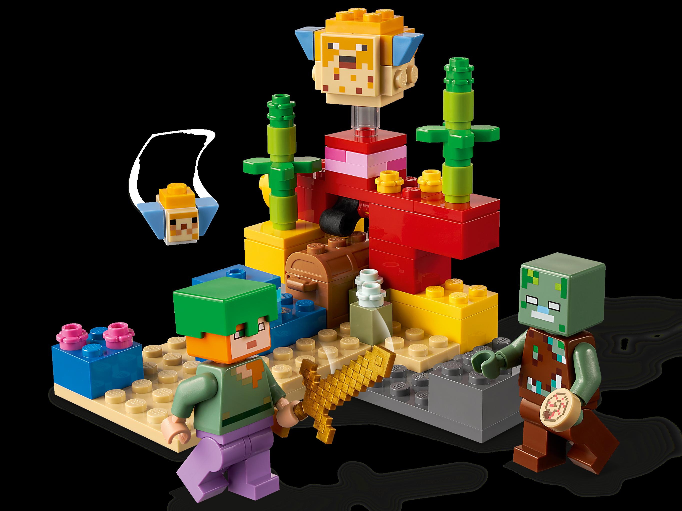 LEGO Minecraft 21164 Korallrevet