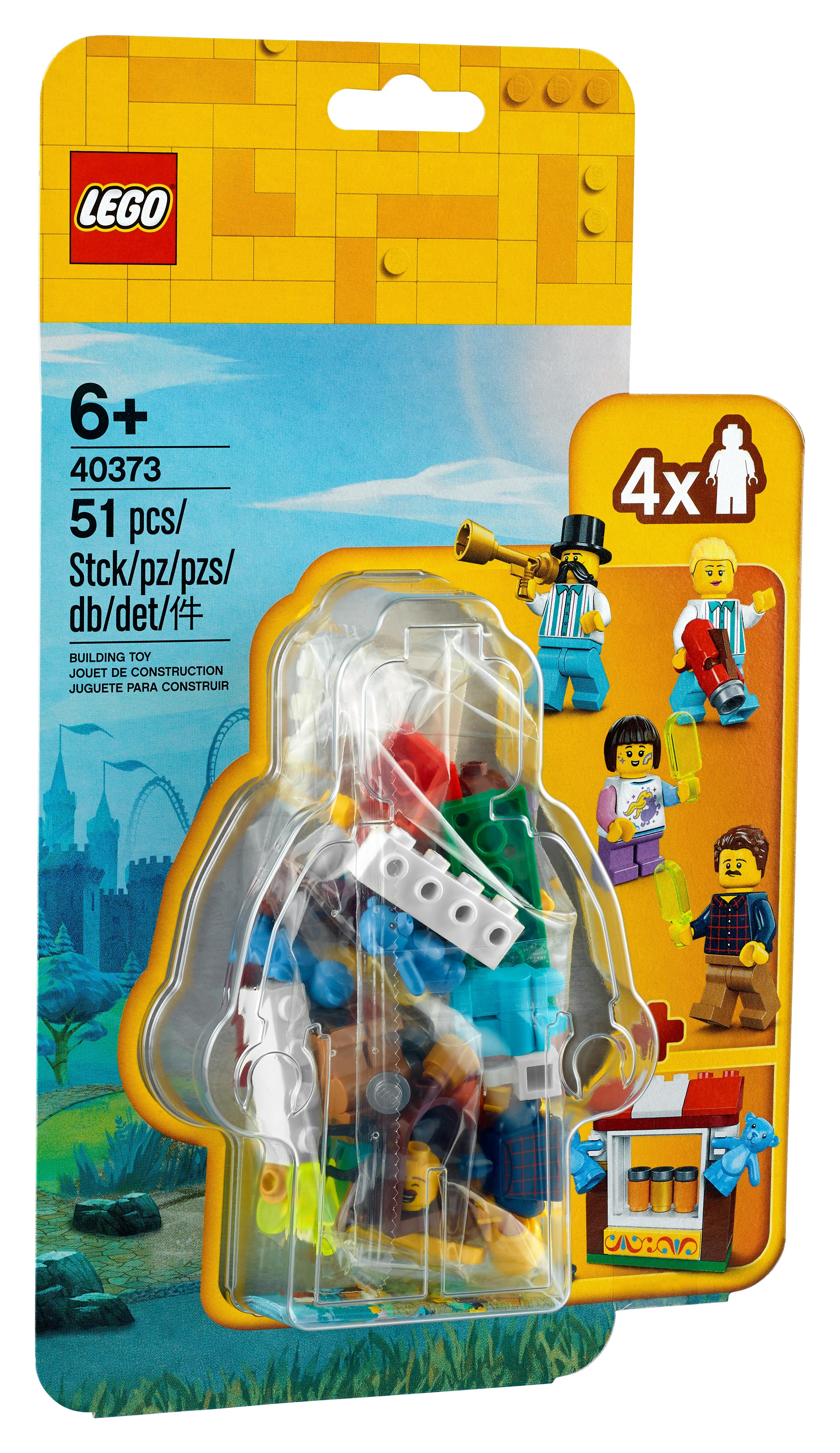 LEGO Minifigures 40373 Tillbehörsset till nöjesfältminifigurer