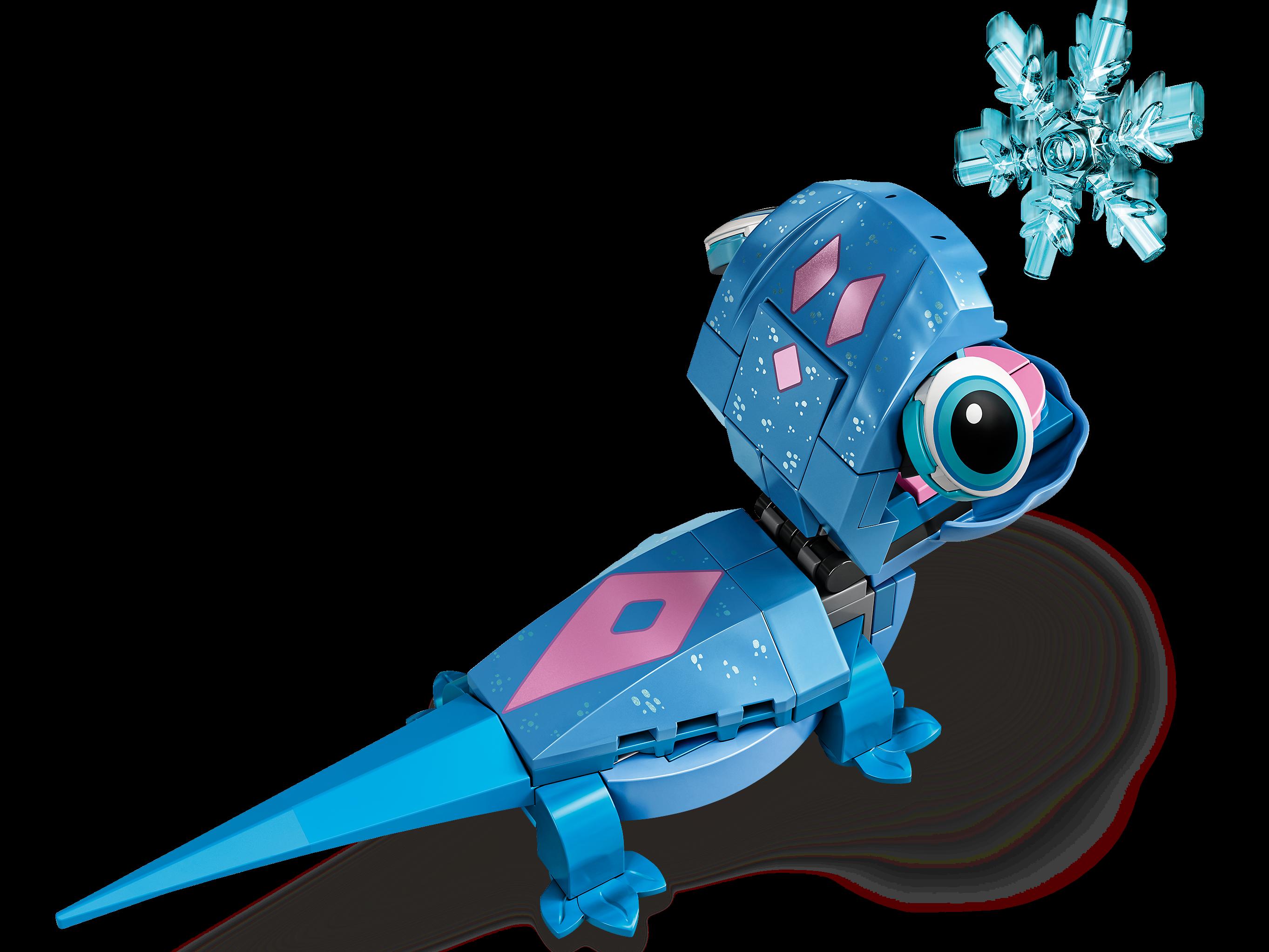 LEGO Disney 43186 Salamandern Bruni – Byggbar karaktär