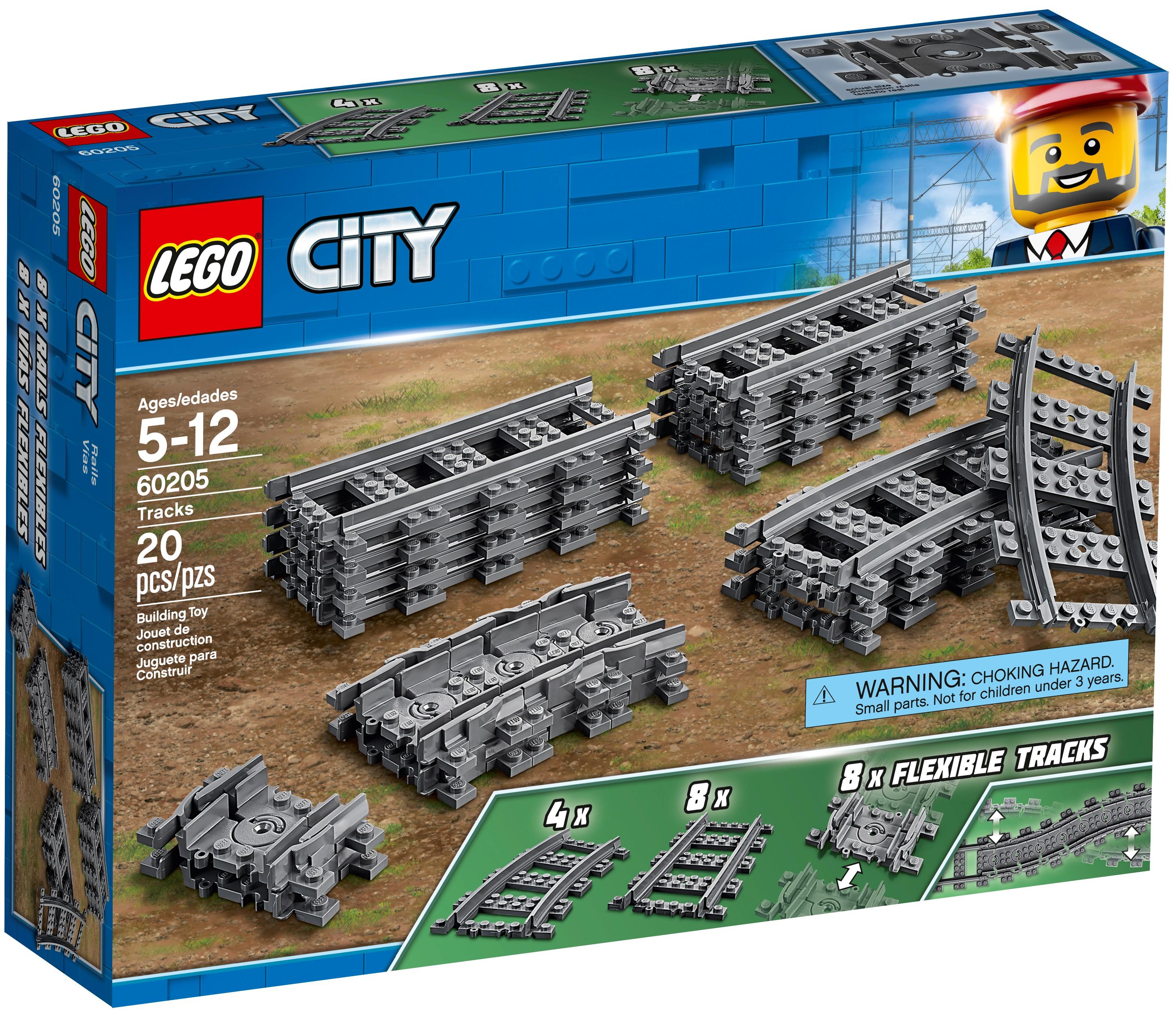 LEGO City 60205 Spår