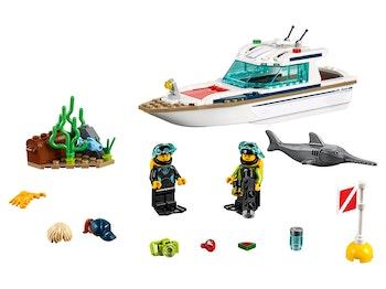 LEGO City 60221 Dykaryacht