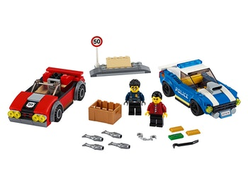 LEGO City 60242 Motorvägsarrestering