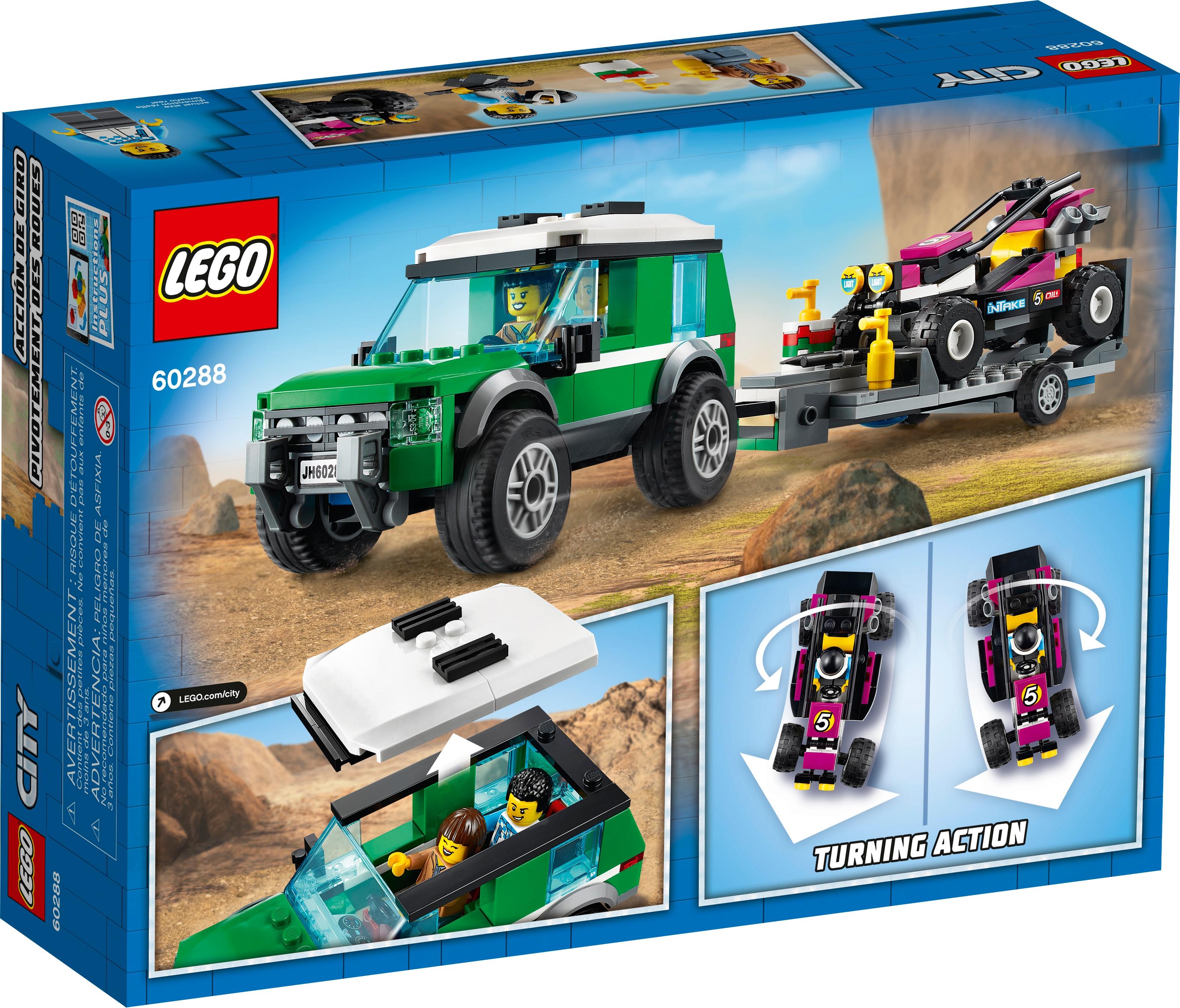 LEGO City 60288 Transport med racerbuggy