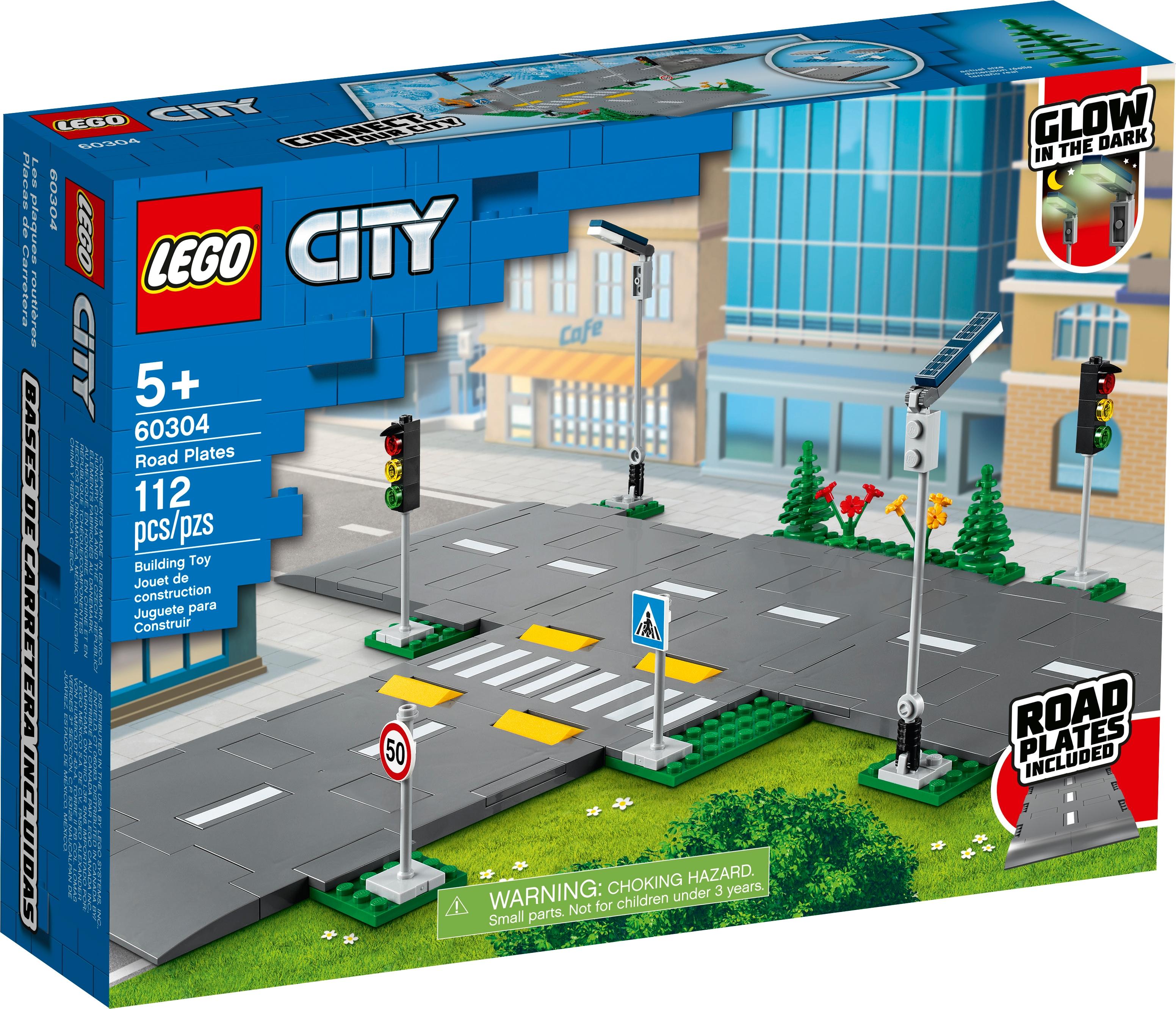 LEGO City 60304 Vägplattor