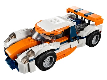 LEGO Creator 3-in-1 31089 Orange racerbil
