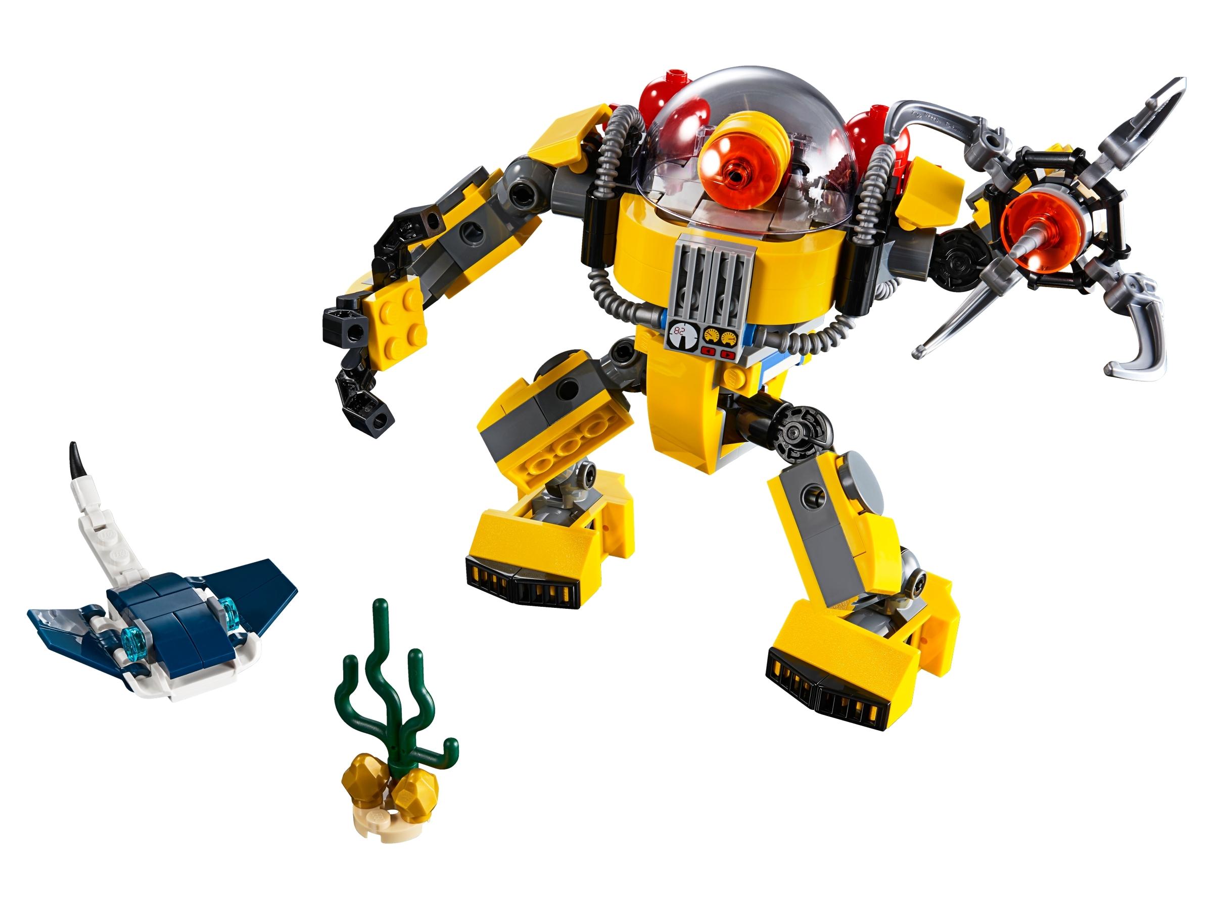 LEGO Creator 3-in-1 31090 Undervattensrobot