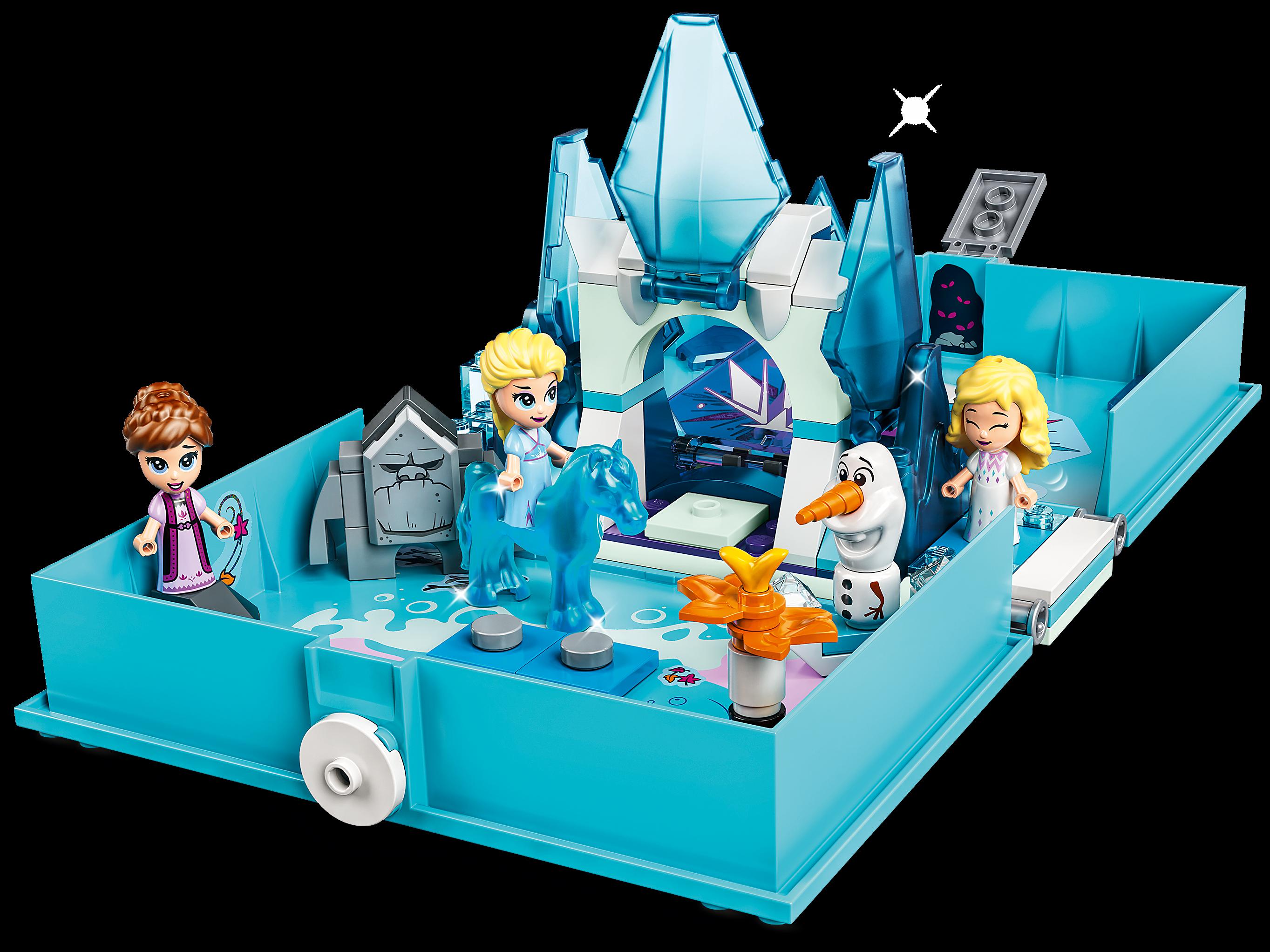 LEGO Disney 43189 Elsa och Nokk – Sagoboksäventyr