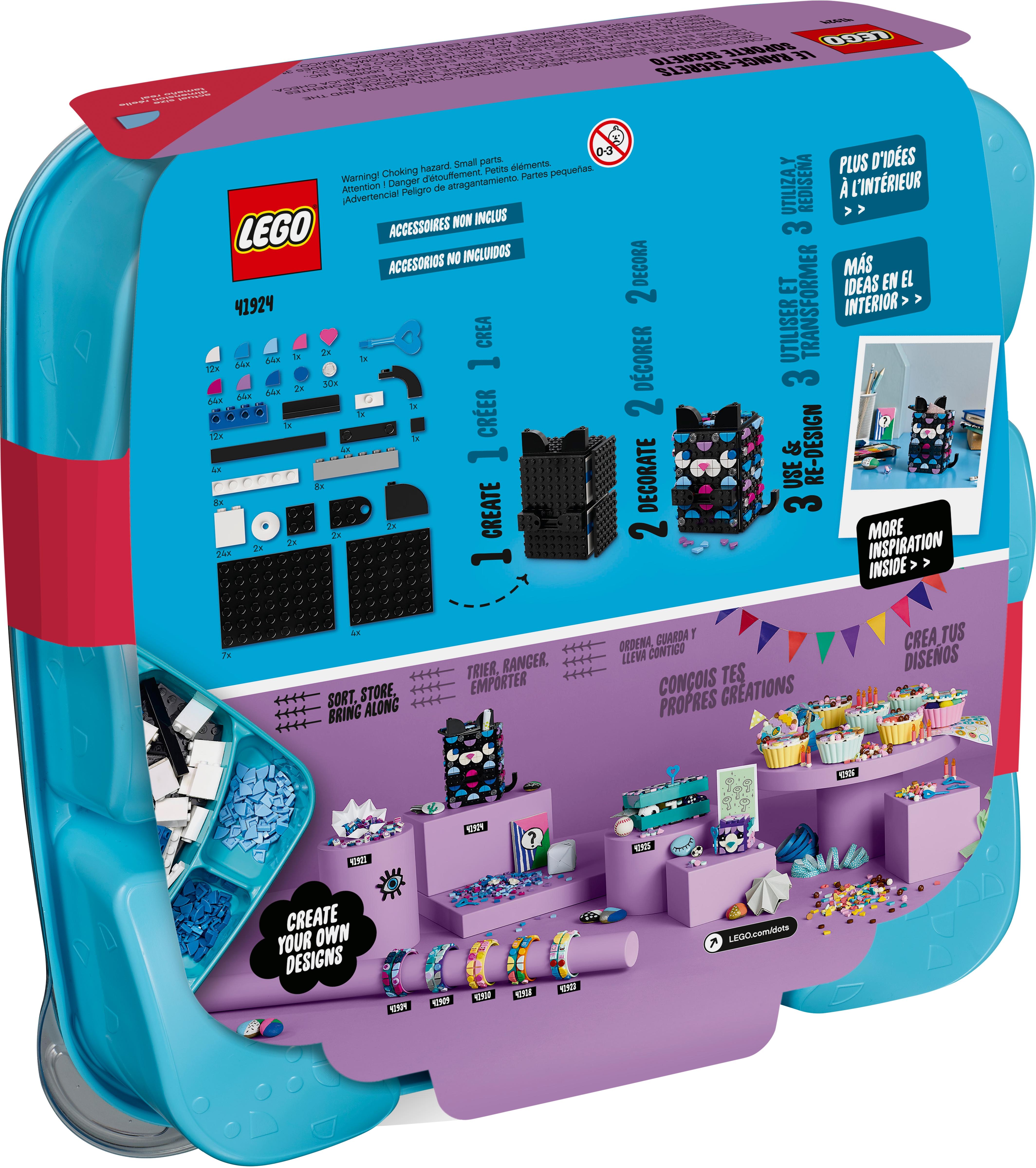 LEGO DOTS 41924 Hemlig hållare