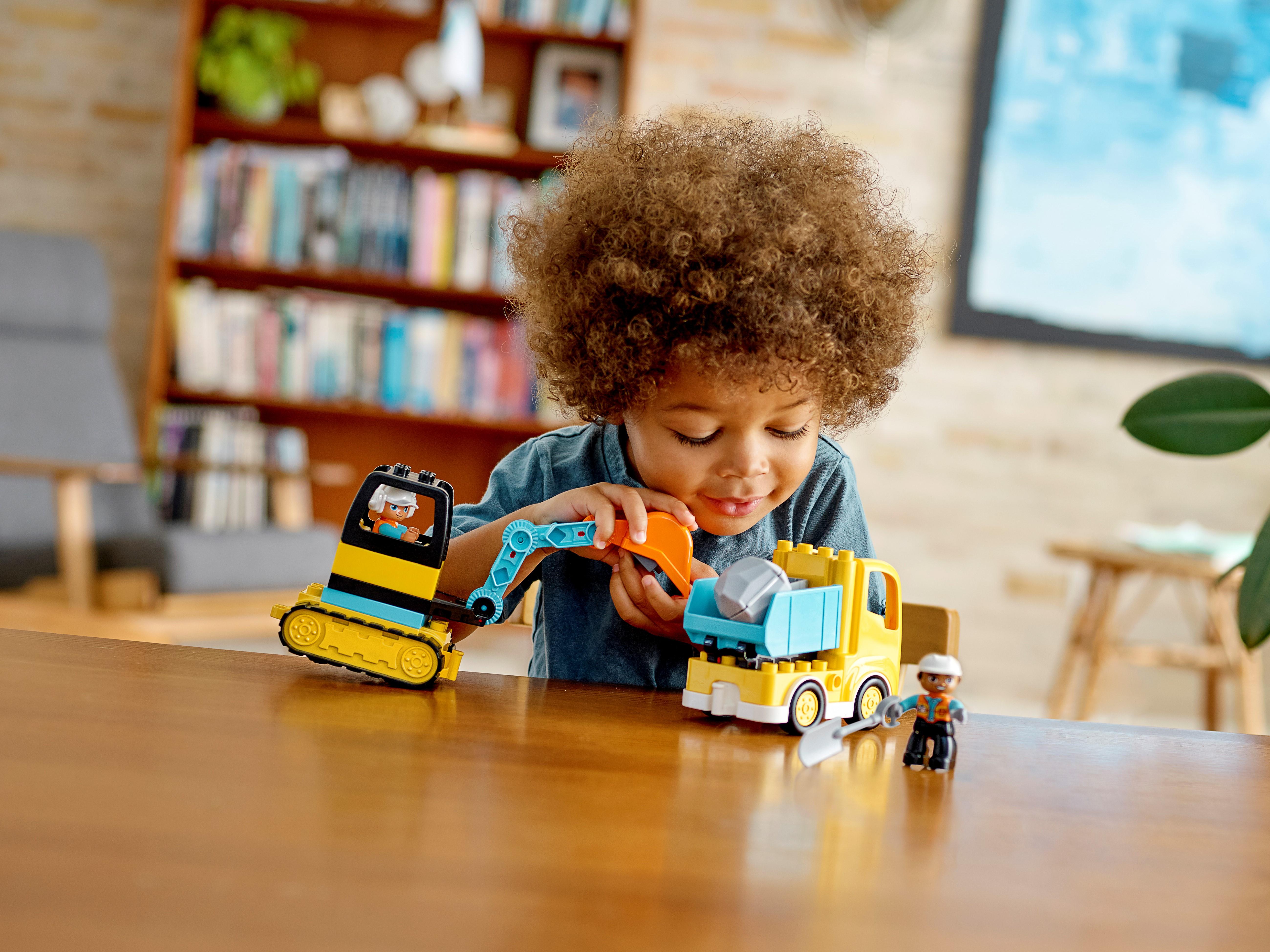 LEGO DUPLO 10931 Lastbil och grävmaskin