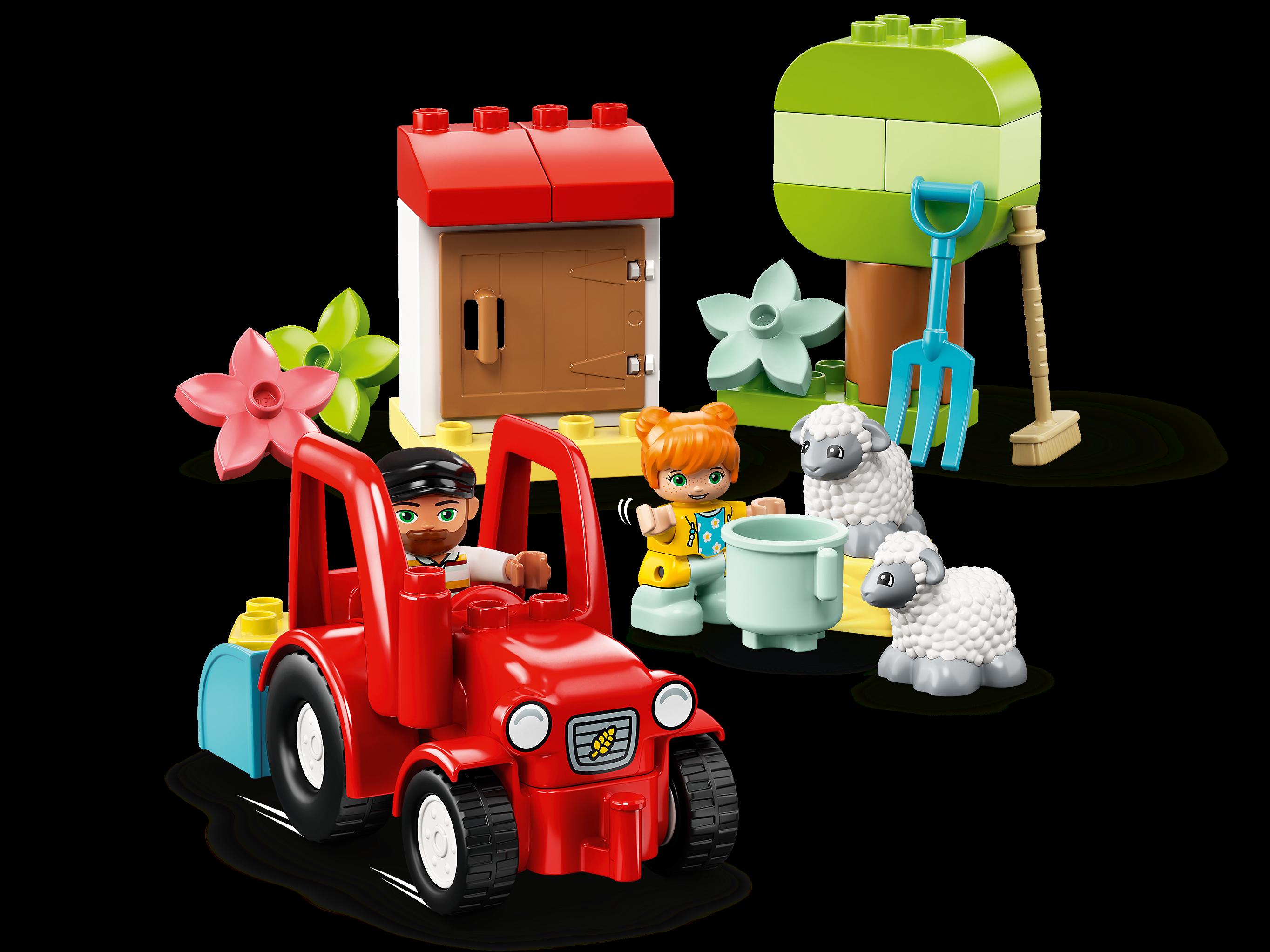 LEGO DUPLO 10950 Traktor och djurskötsel