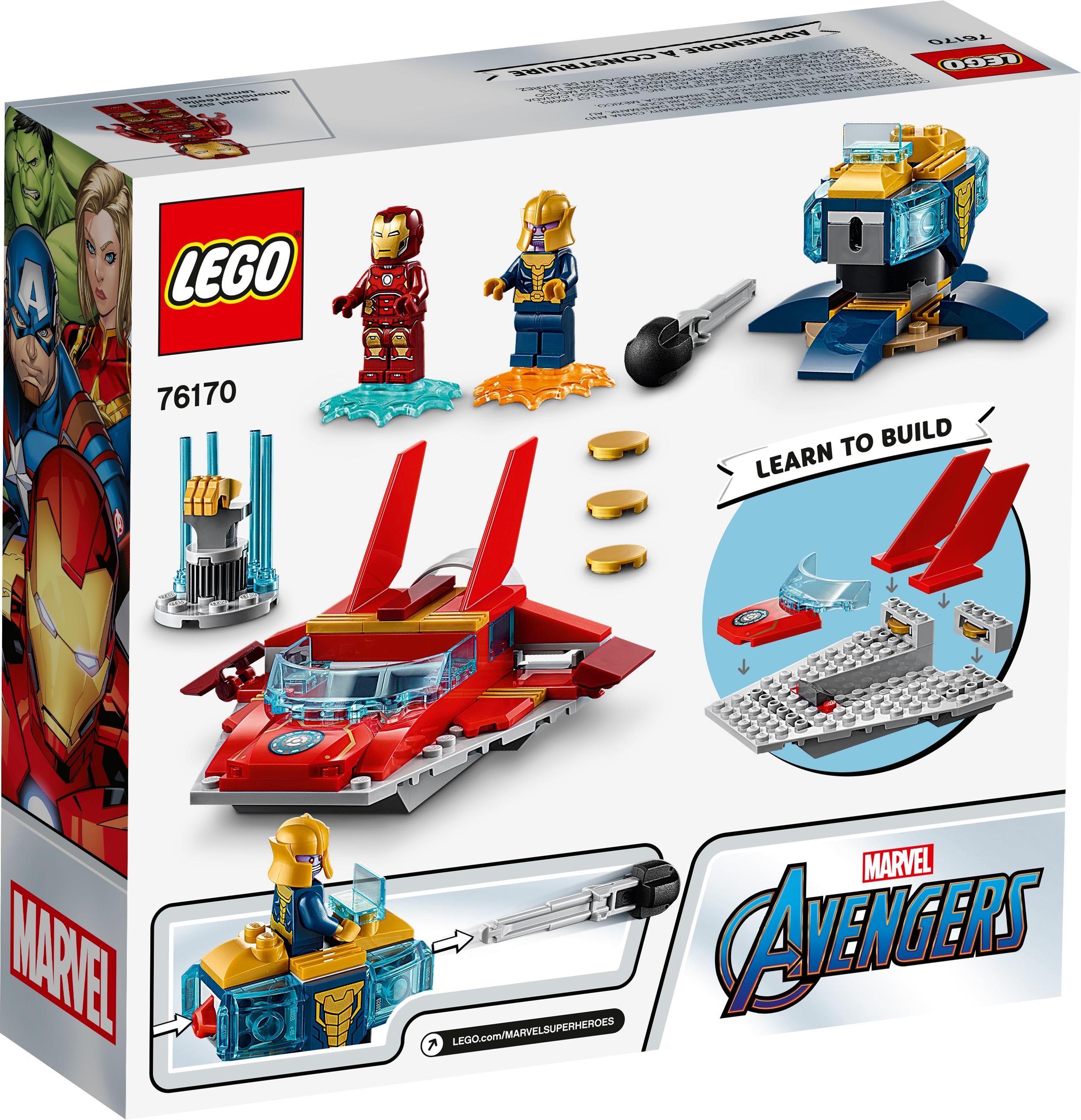 LEGO Marvel 76170 Iron Man mot Thanos
