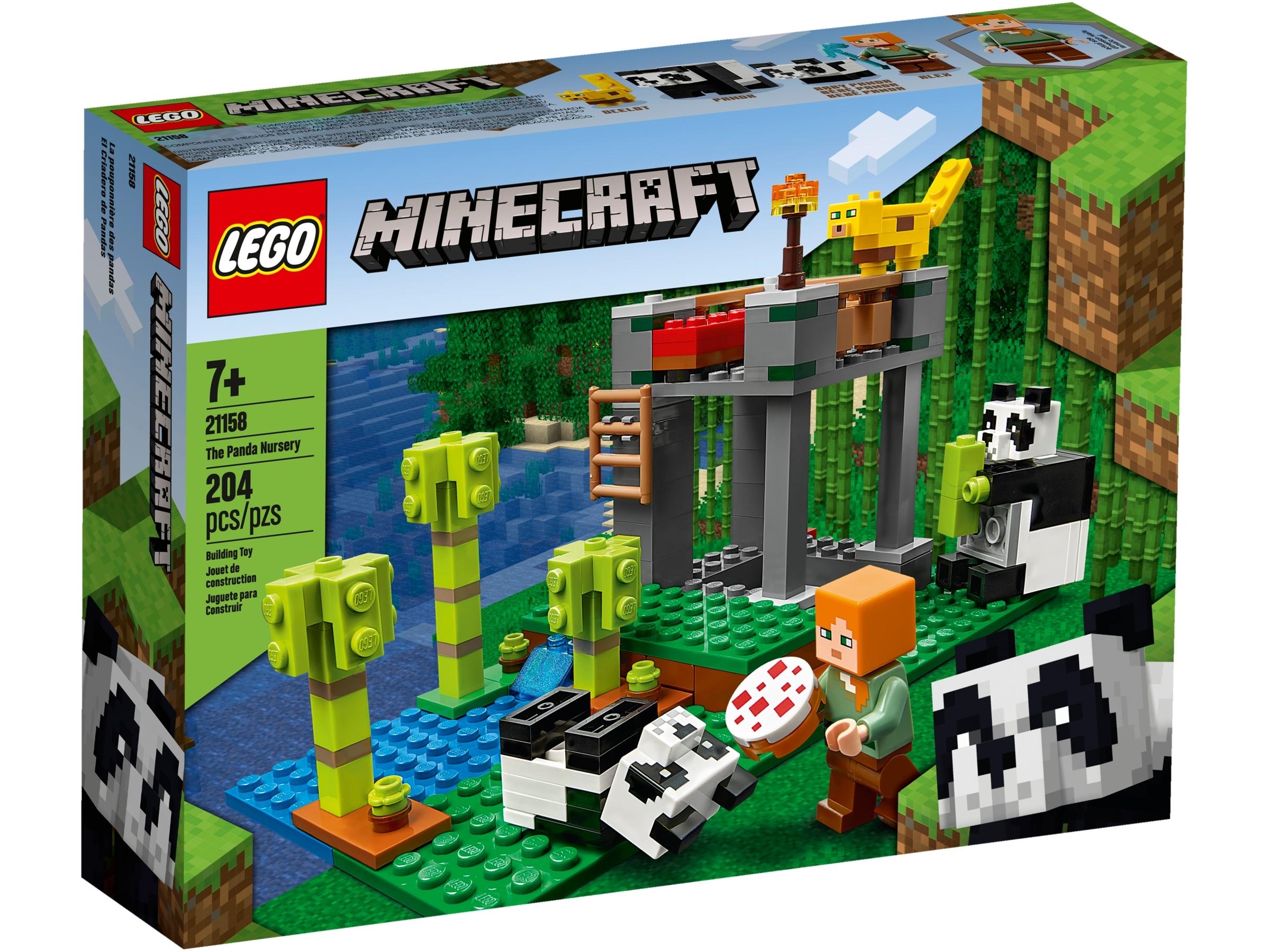 LEGO Minecraft 21158 Pandagården