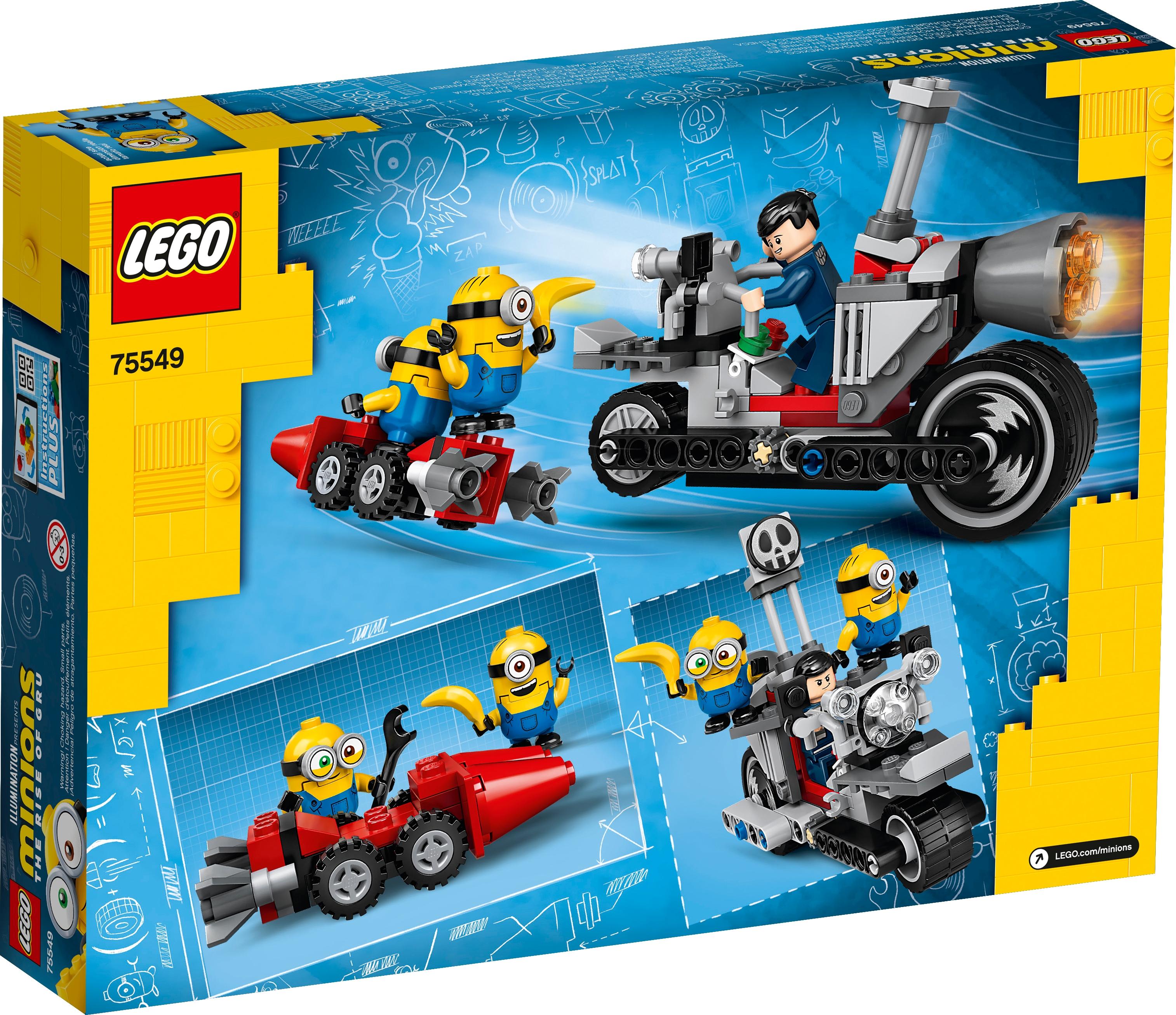 LEGO Minions 75549 Ostoppbar cykeljakt